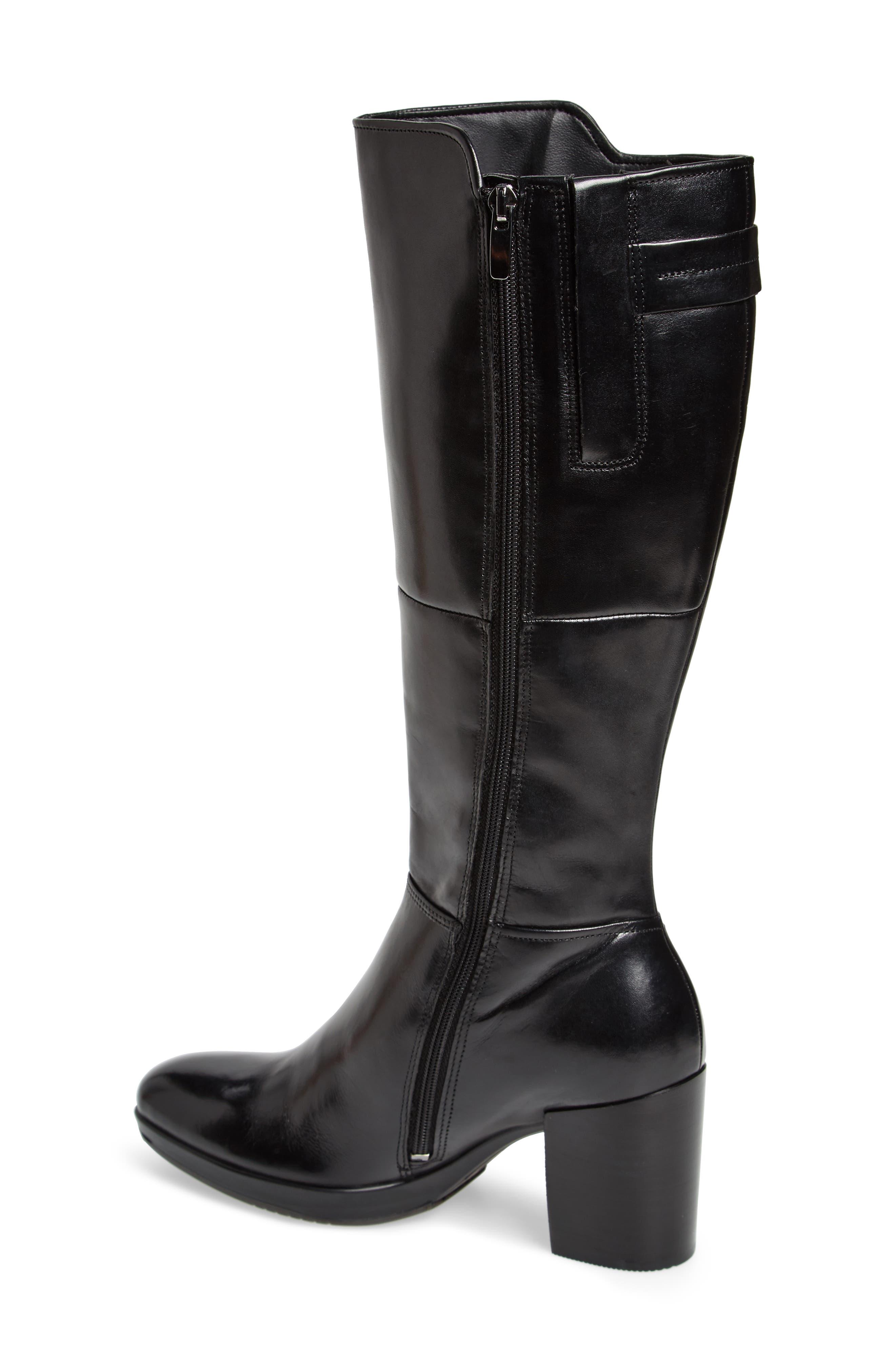 Shape 55 Chalet Boot,                             Alternate thumbnail 2, color,                             BLACK LEATHER