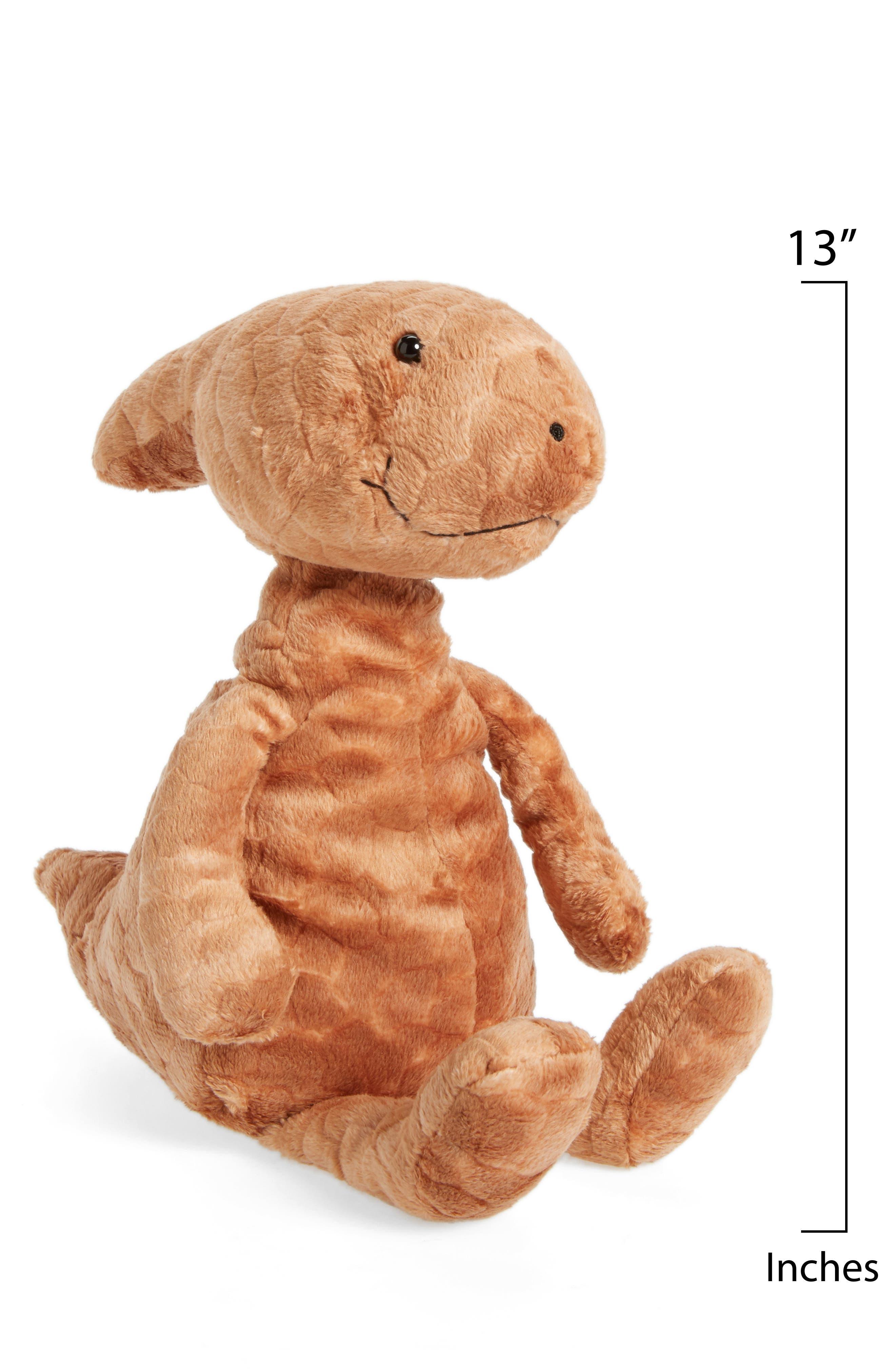 Patrick Parasaurolophus Stuffed Animal,                             Alternate thumbnail 2, color,                             RUST