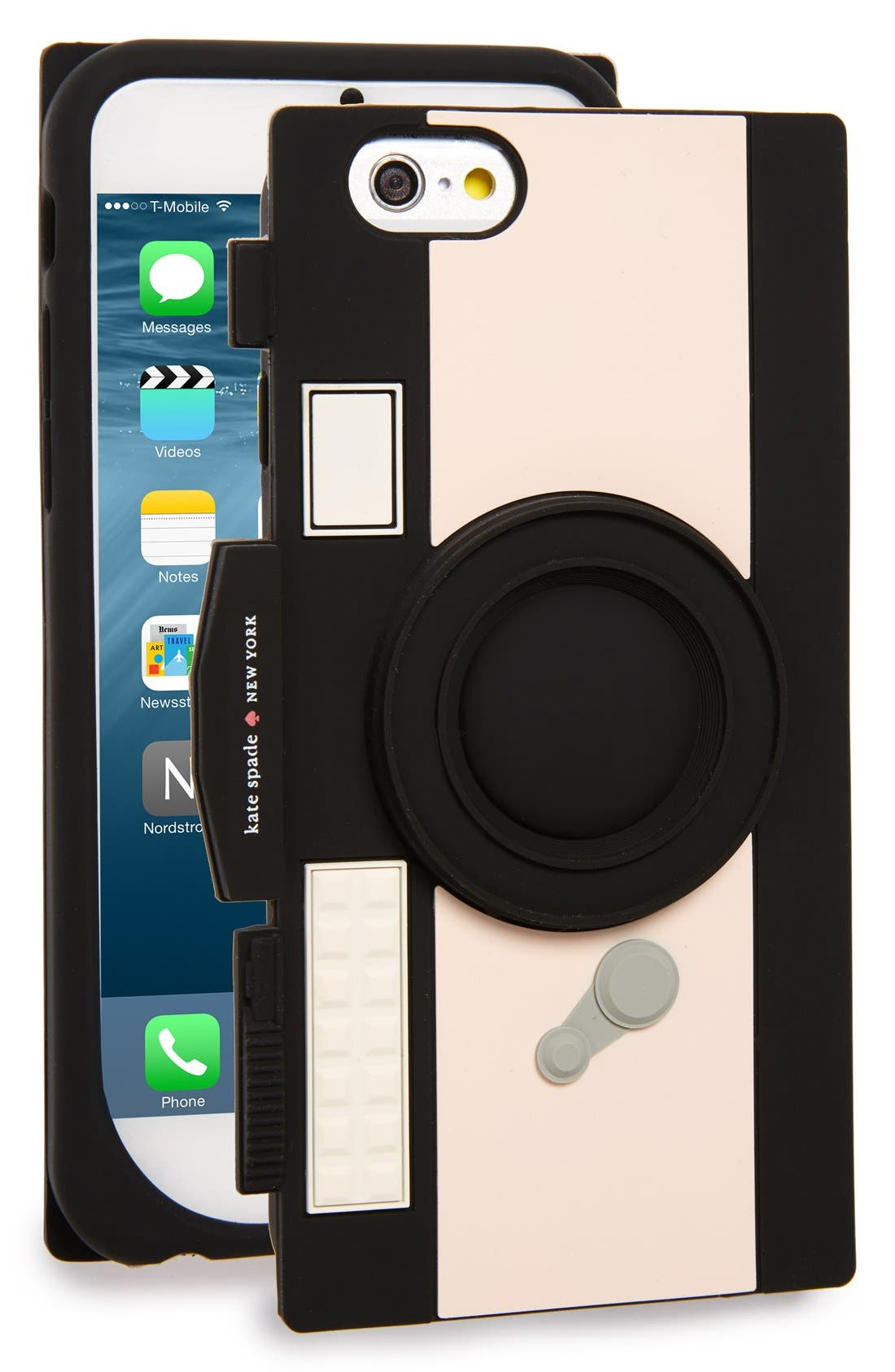 KATE SPADE NEW YORK,                             'camera' iPhone 6 & 6s case,                             Main thumbnail 1, color,                             001