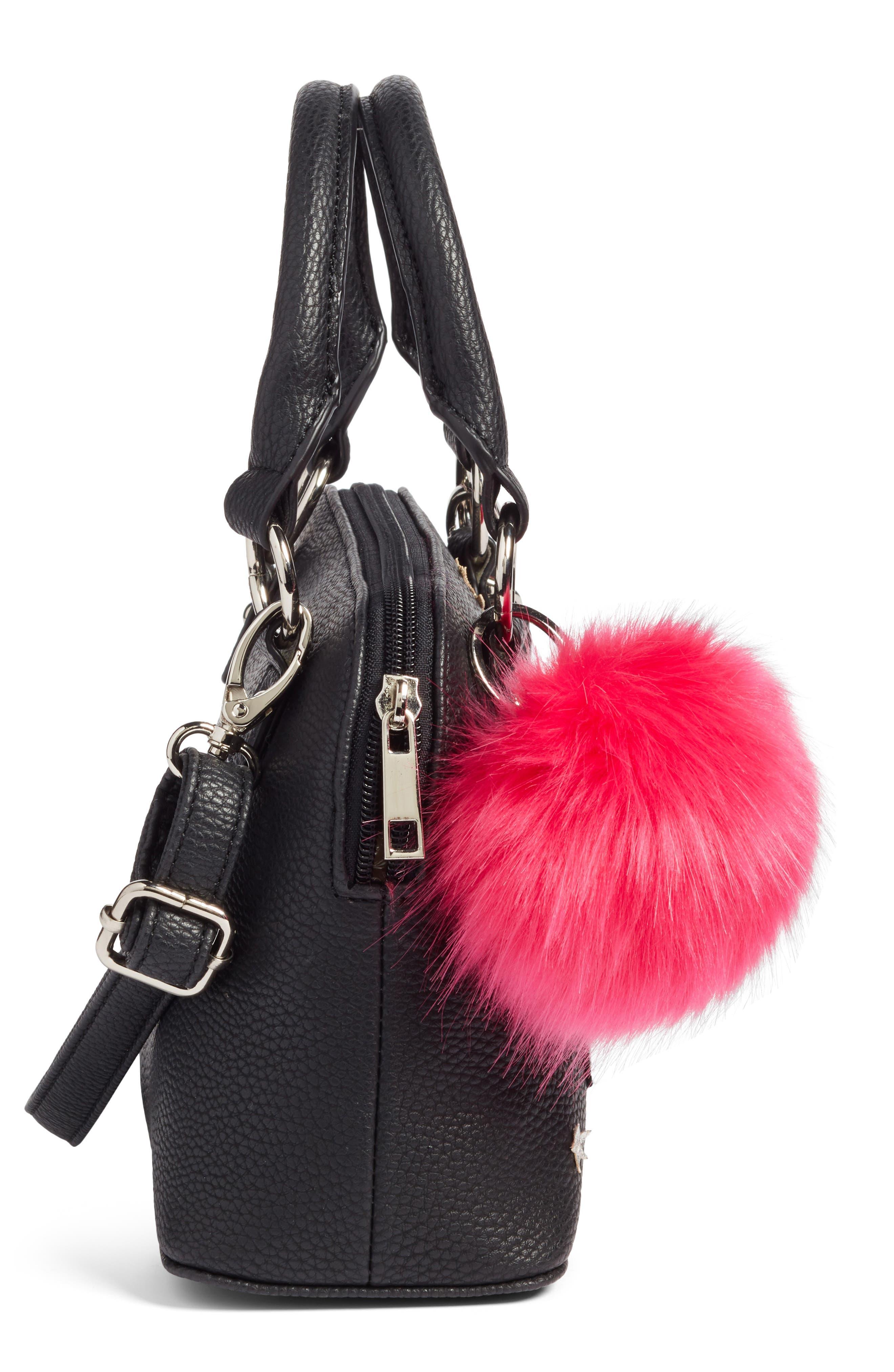 Appliqué Handbag,                             Alternate thumbnail 4, color,                             006