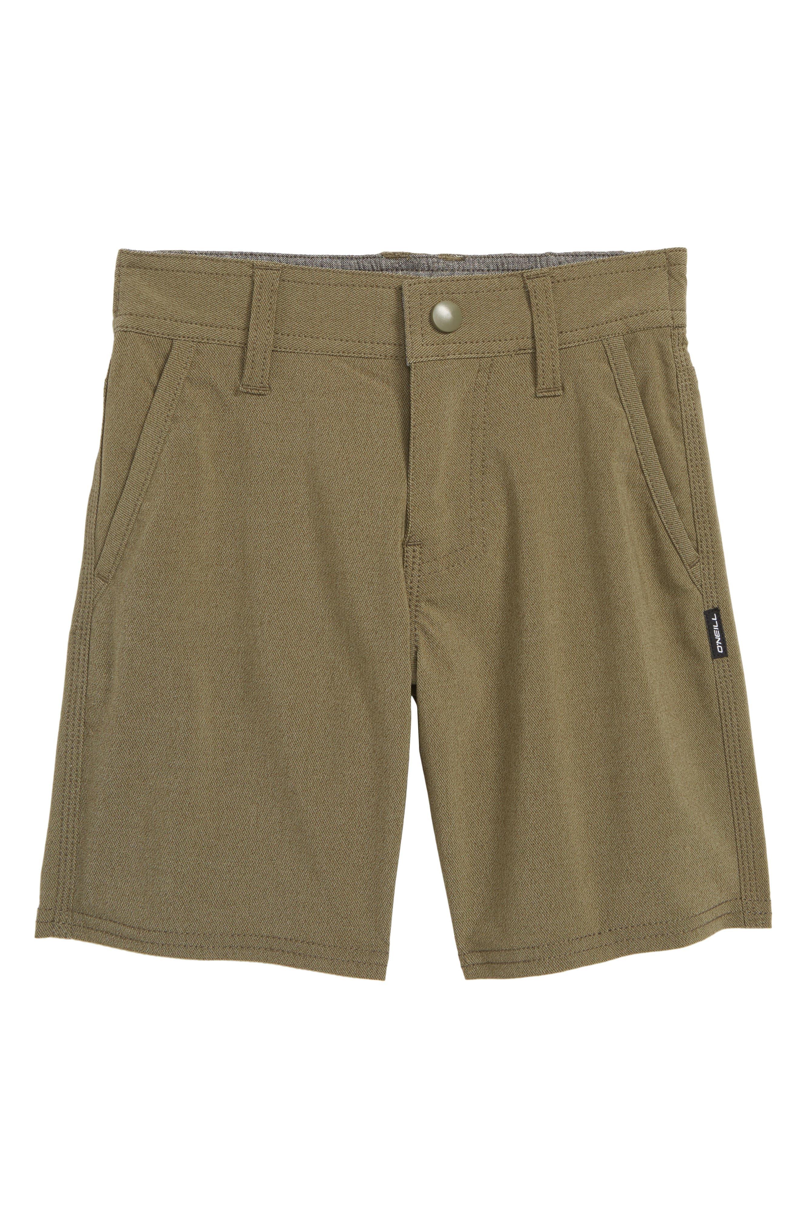 Stockton Hybrid Shorts,                         Main,                         color, MILITARY GREEN