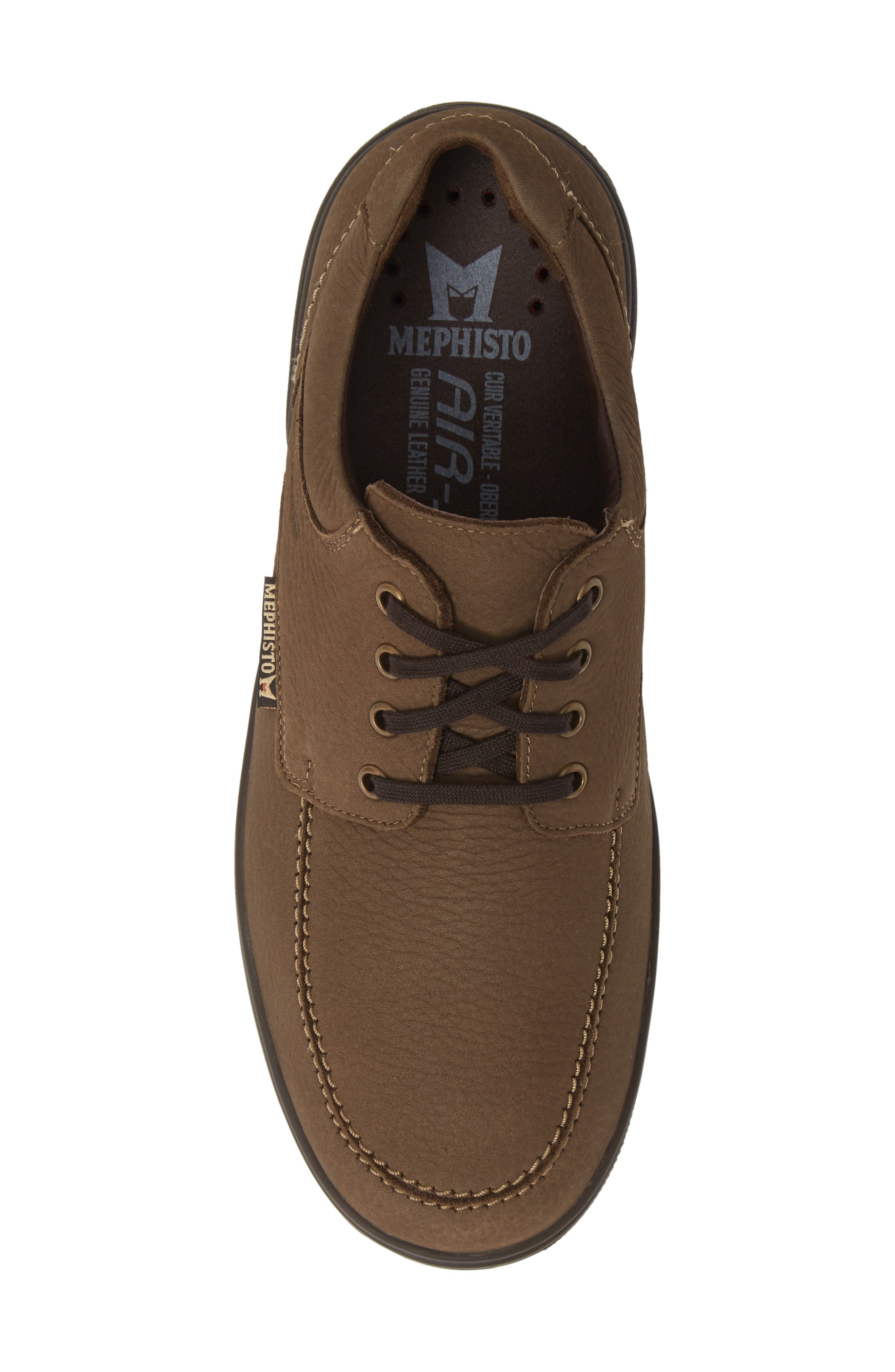 Douk HydroProtect Waterproof Moc Toe Derby,                             Alternate thumbnail 5, color,                             CAMEL SPORTBUCK