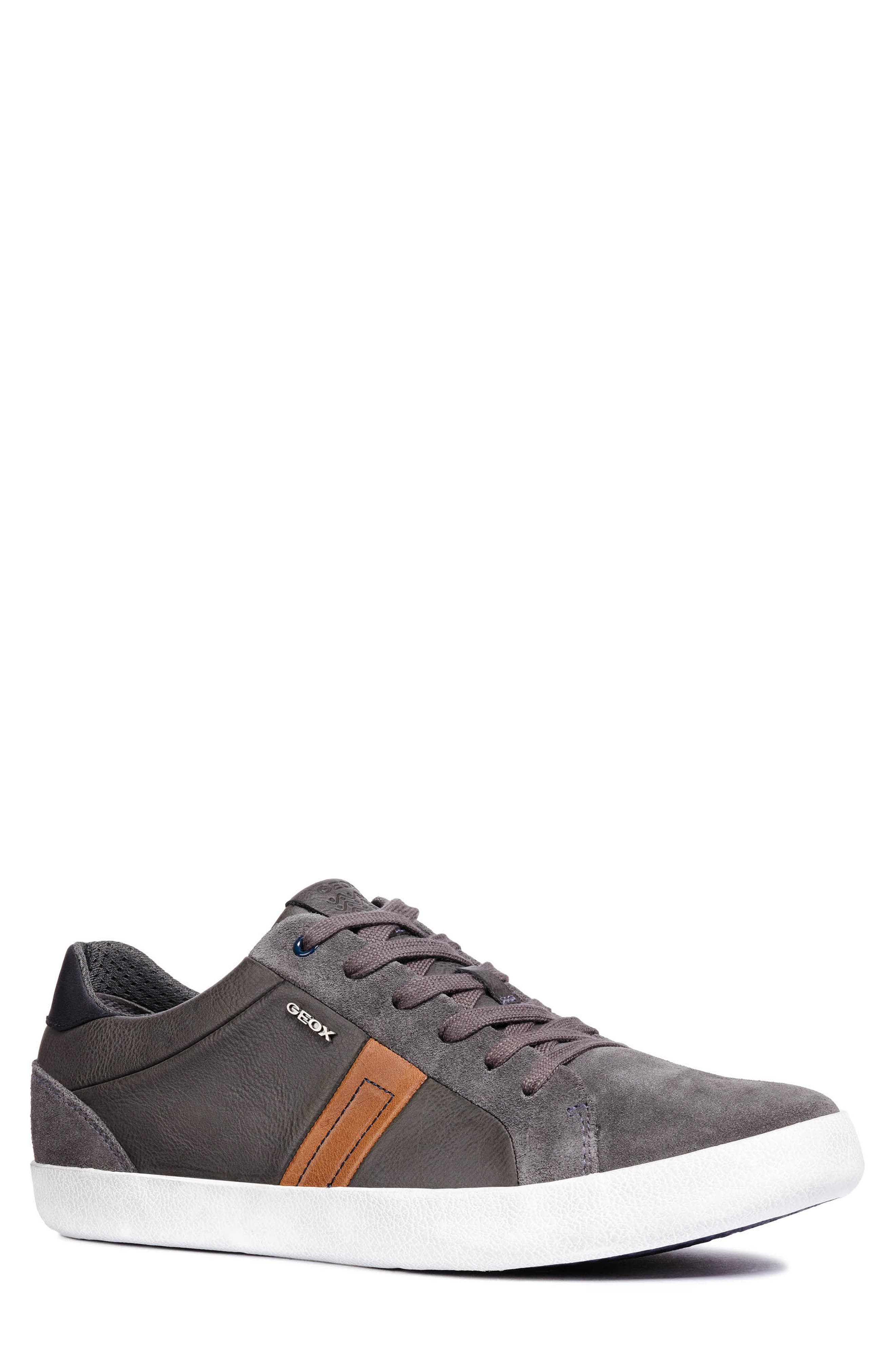Box 40 Low Top Sneaker,                         Main,                         color, ANTHRACITE LEATHER