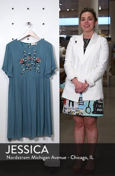Embroidered Dress, sales video thumbnail