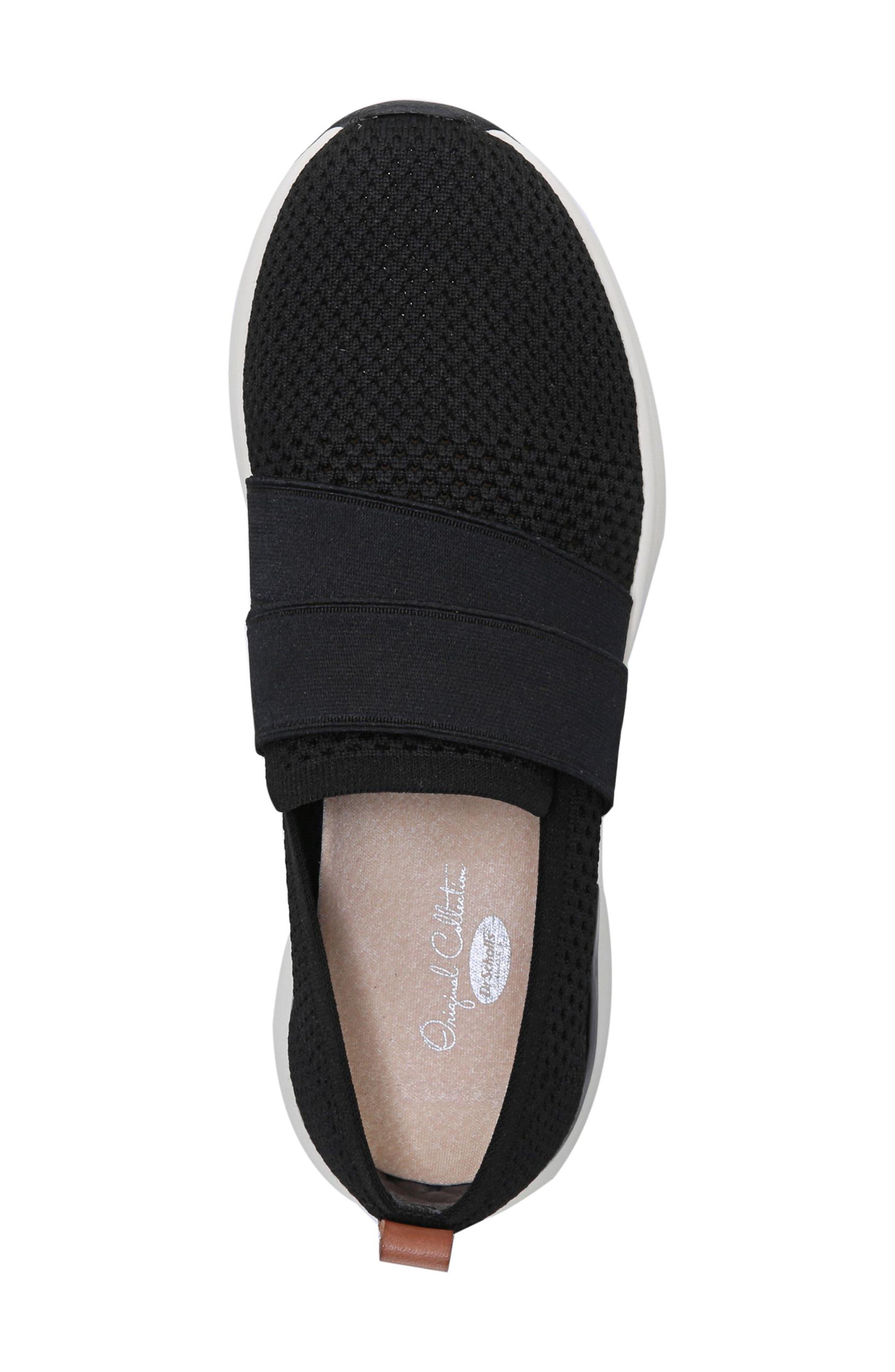 Slay All Day Sneaker,                             Alternate thumbnail 5, color,                             BLACK FABRIC