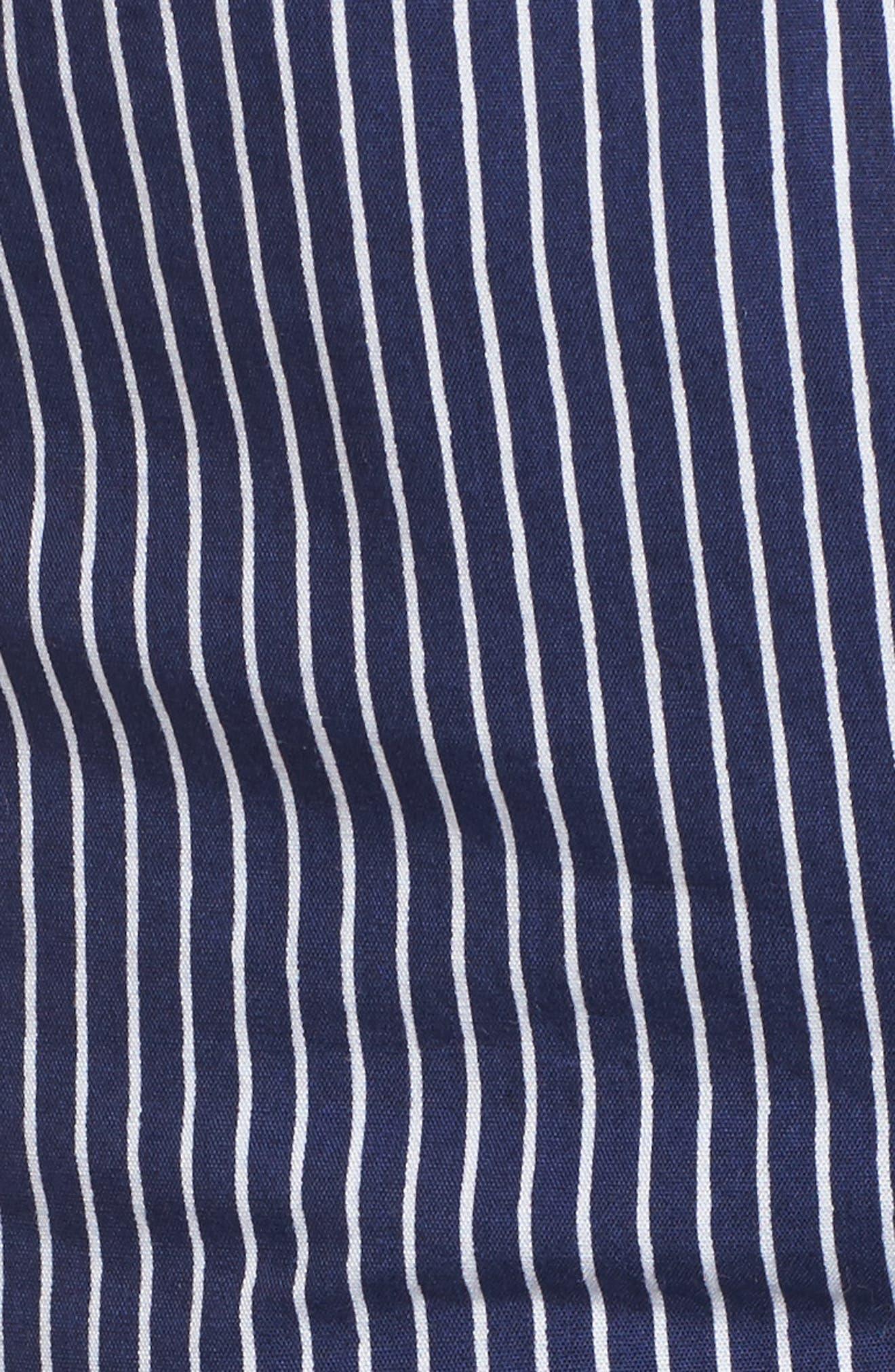 Piña Colada Tie Peplum Camisole,                             Alternate thumbnail 5, color,