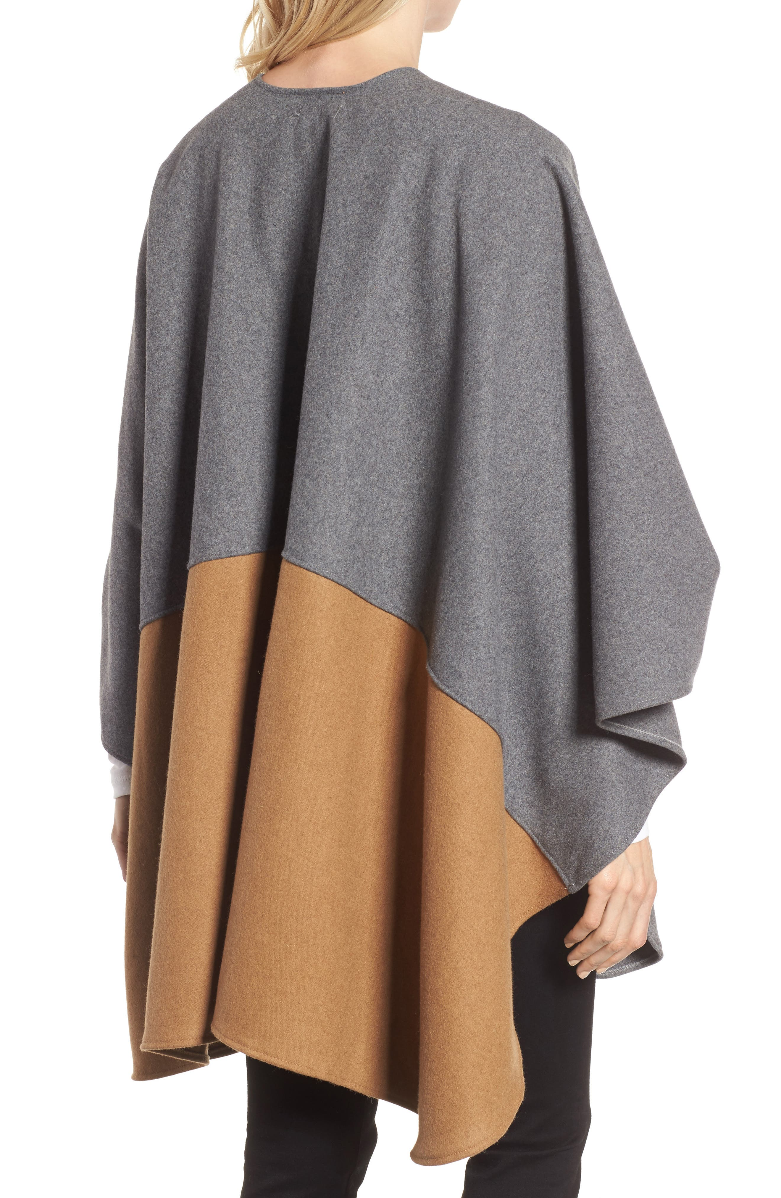 Duo Wonder Wool Cape,                             Alternate thumbnail 3, color,