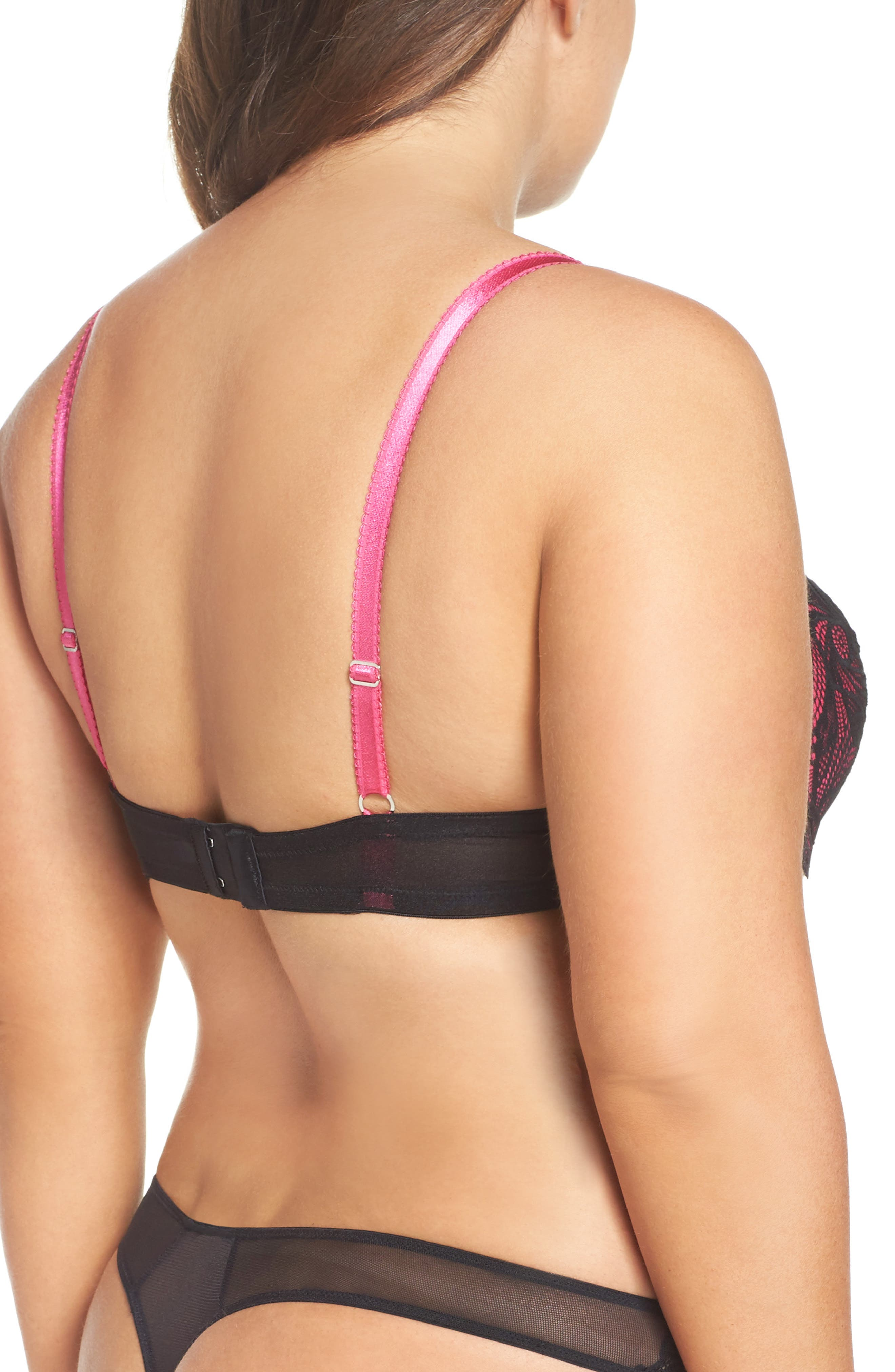 ADORE ME,                             Lulu Underwire Balconette Bra,                             Alternate thumbnail 2, color,                             001