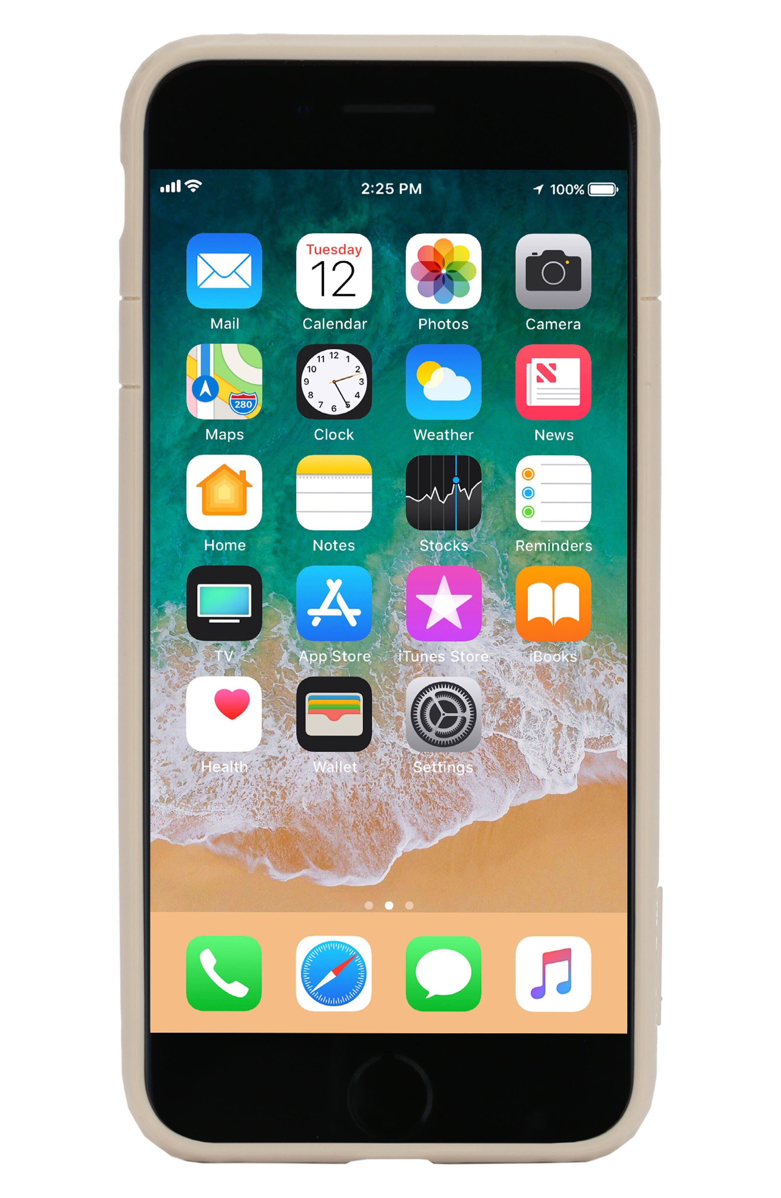 Frame iPhone 7 Plus/8 Plus Case,                             Main thumbnail 1, color,                             GOLD
