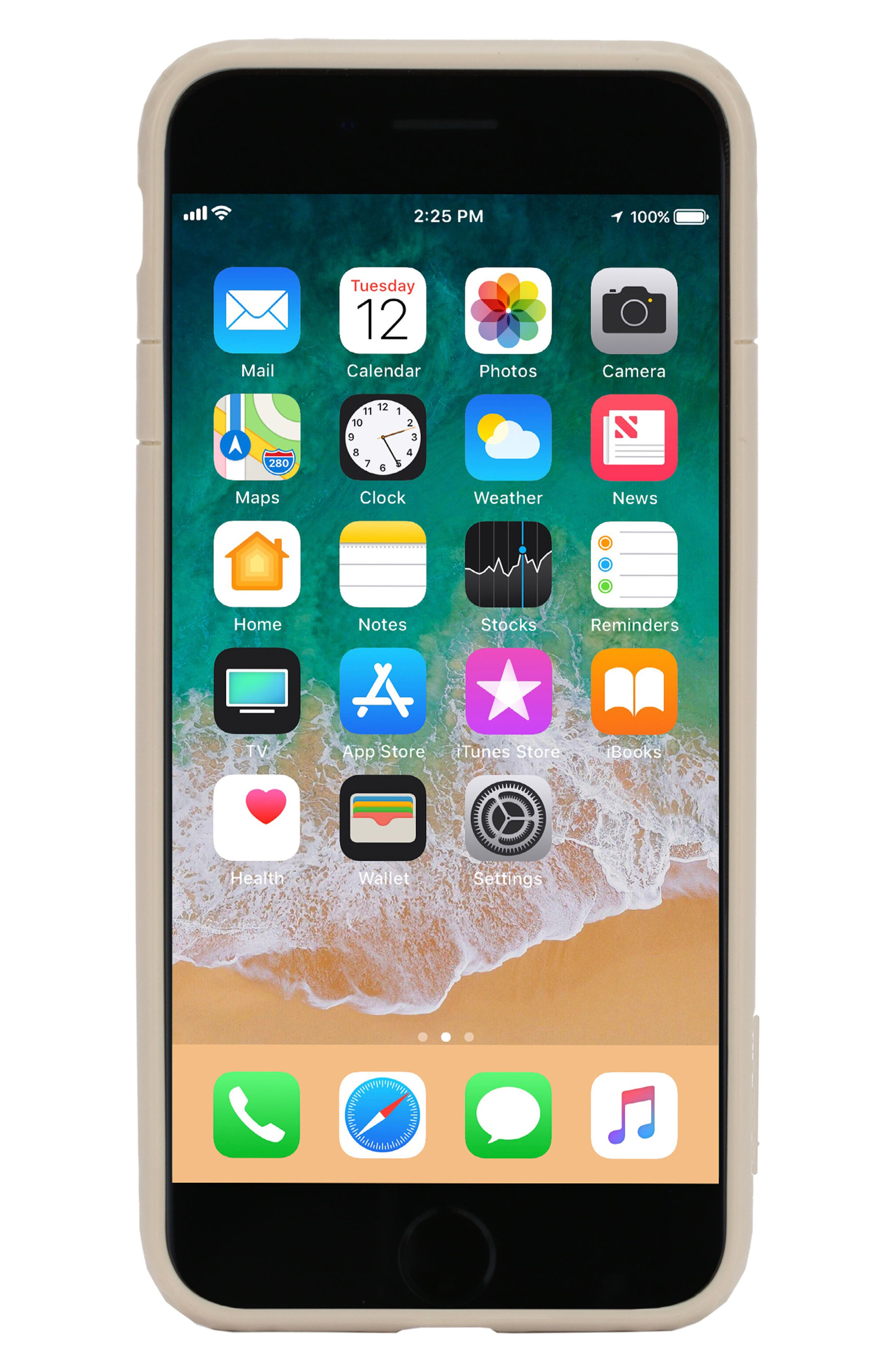 Frame iPhone 7 Plus/8 Plus Case,                         Main,                         color, GOLD