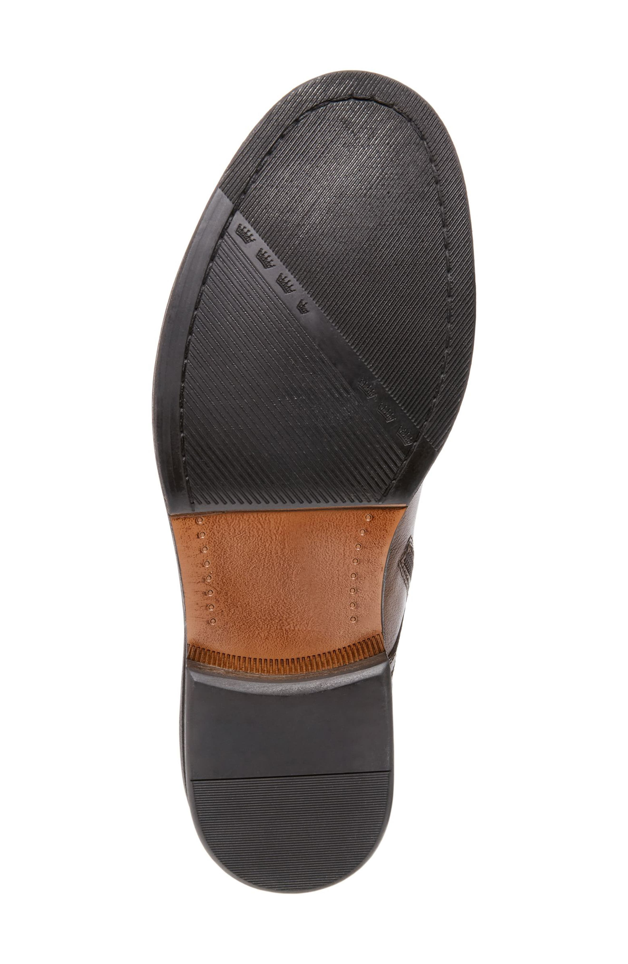 Chariot Boot,                             Alternate thumbnail 5, color,                             COGNAC LEATHER