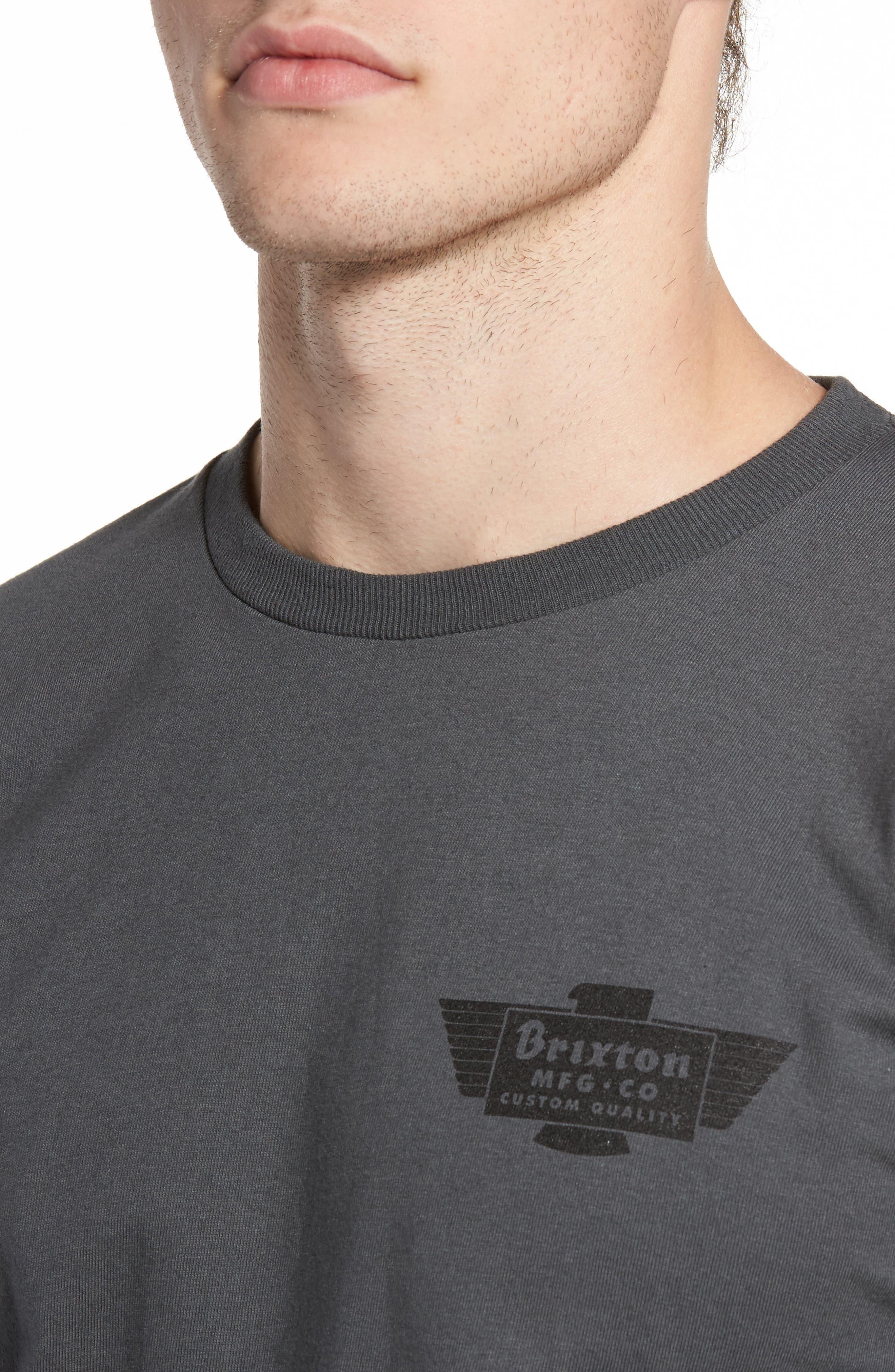 Cylinder Standard T-Shirt,                             Alternate thumbnail 4, color,                             050
