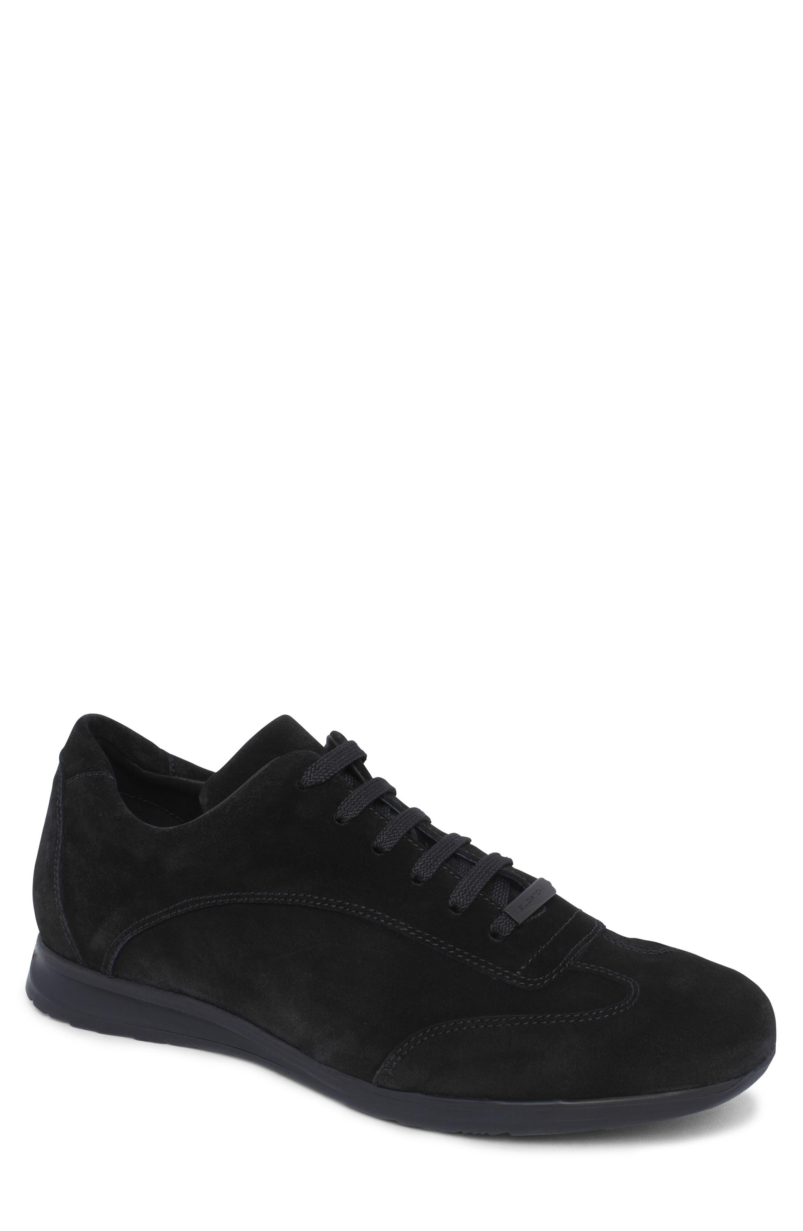 men's bugatchi monte rosso sneaker, size 8.5 m - black