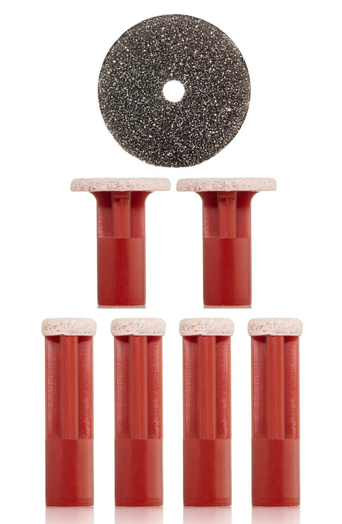 Red Coarse Replacement Discs,                         Main,                         color, RED