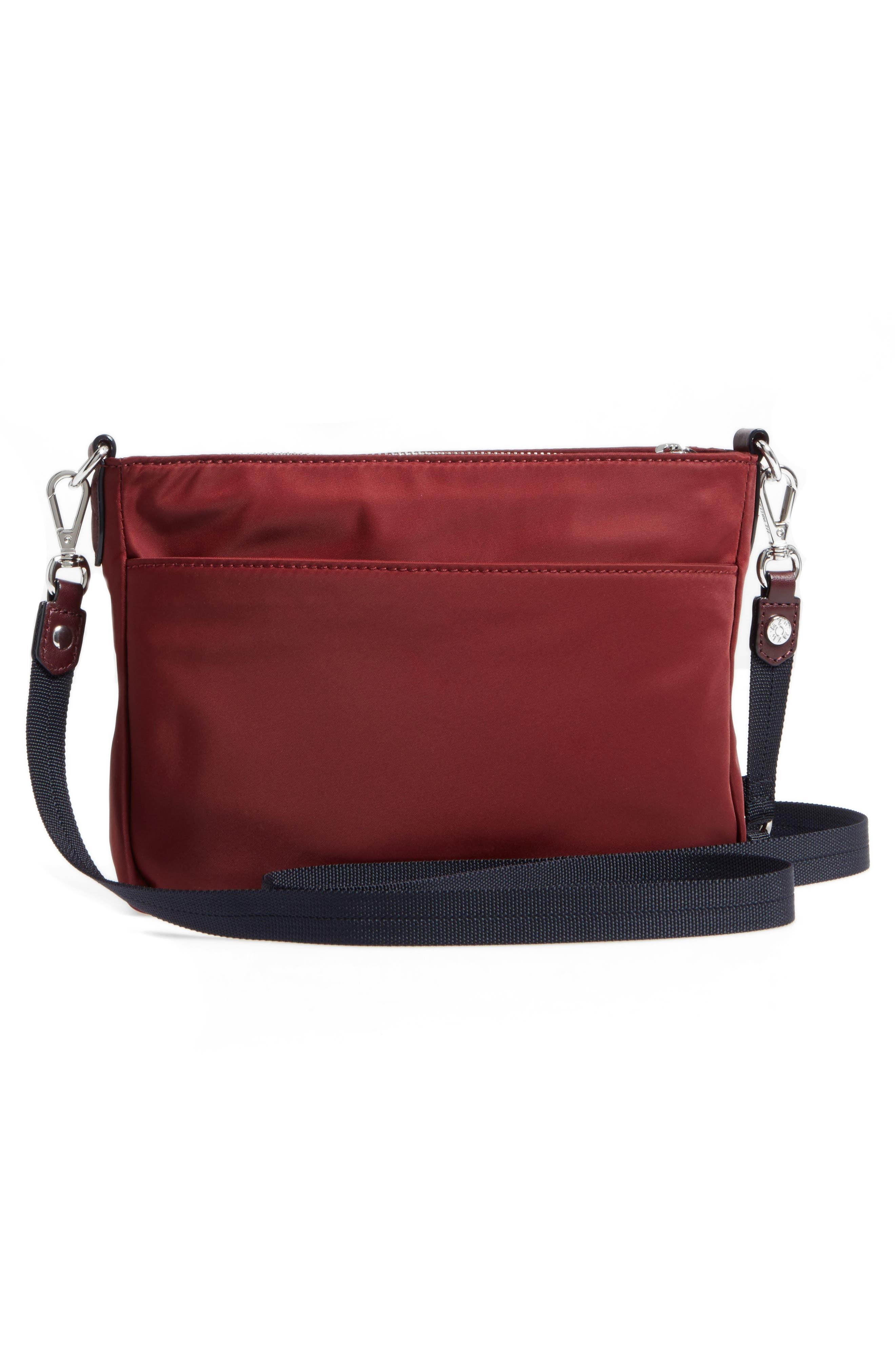 Abbey Bedford Nylon Crossbody Bag,                             Alternate thumbnail 3, color,                             618