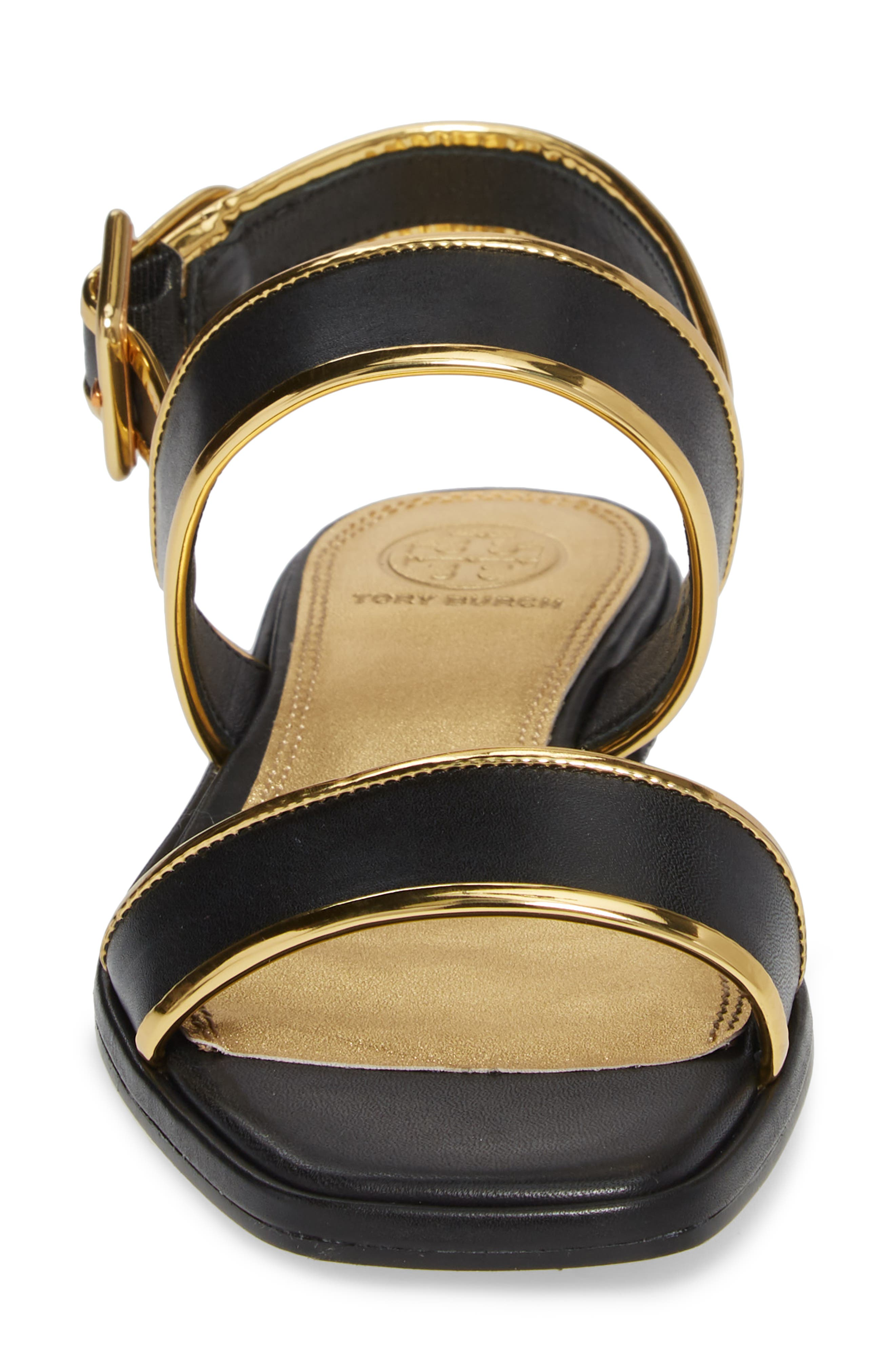 Delaney Double Strap Sandal,                             Alternate thumbnail 19, color,