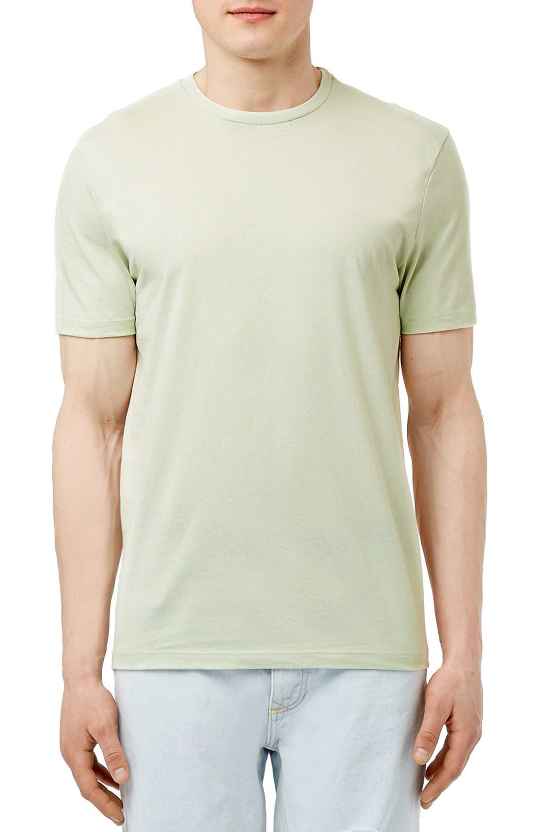 Slim Fit Crewneck T-Shirt,                             Main thumbnail 53, color,
