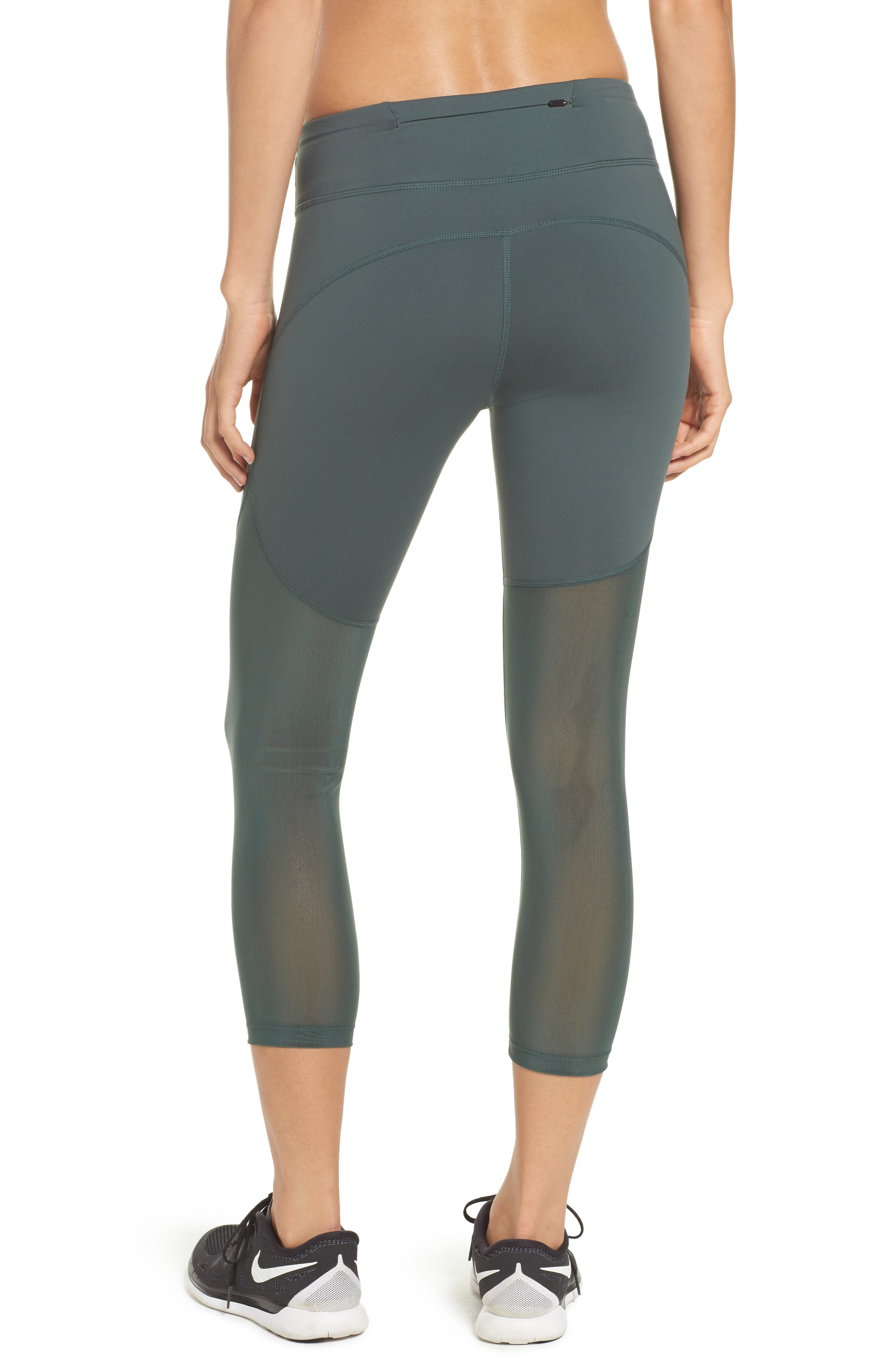 Power Epic Crop Tights,                             Alternate thumbnail 4, color,