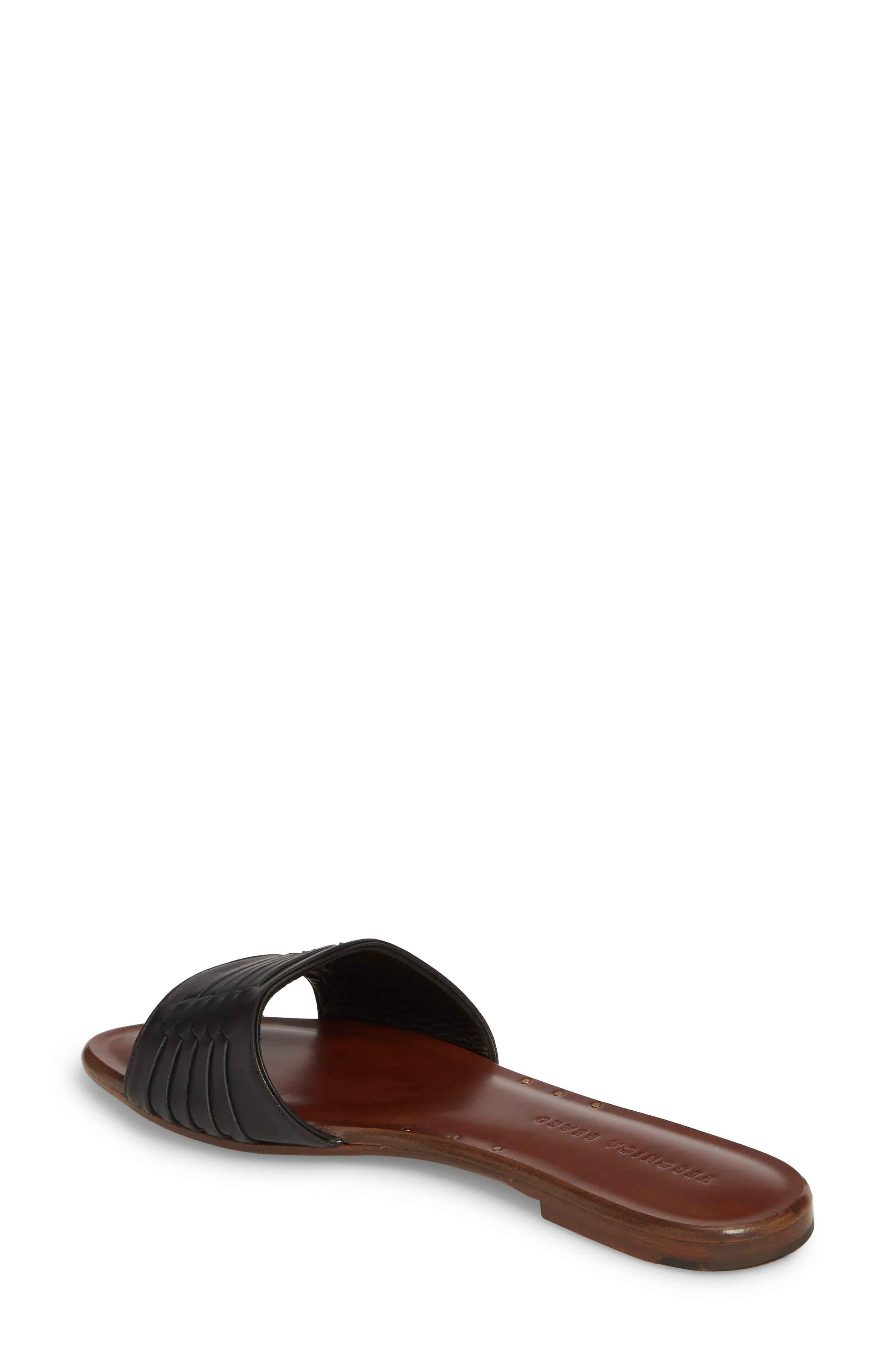 Faven Woven Slide Sandal,                             Alternate thumbnail 2, color,                             001