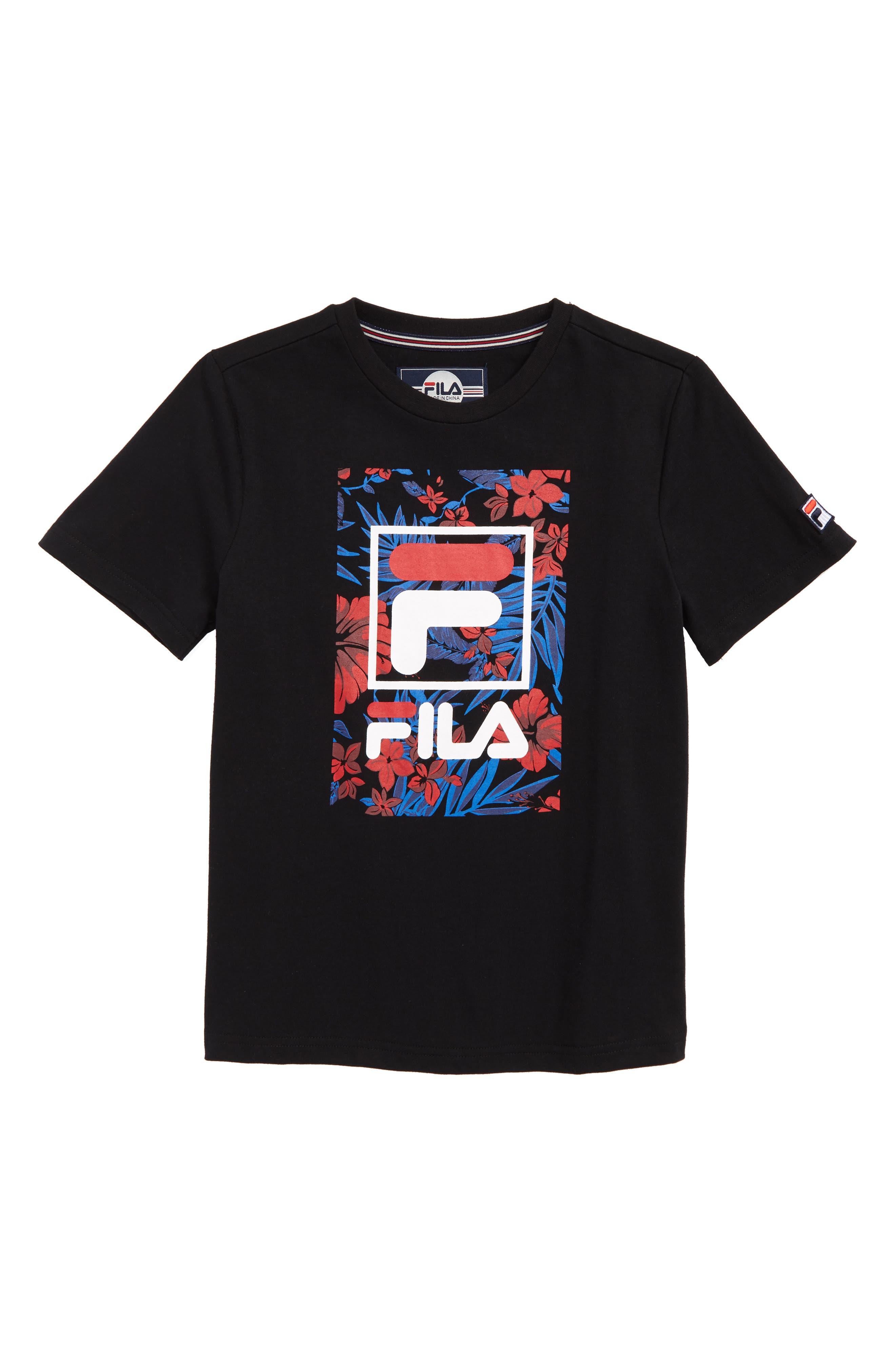 Tropic Logo T-Shirt,                             Main thumbnail 1, color,                             001