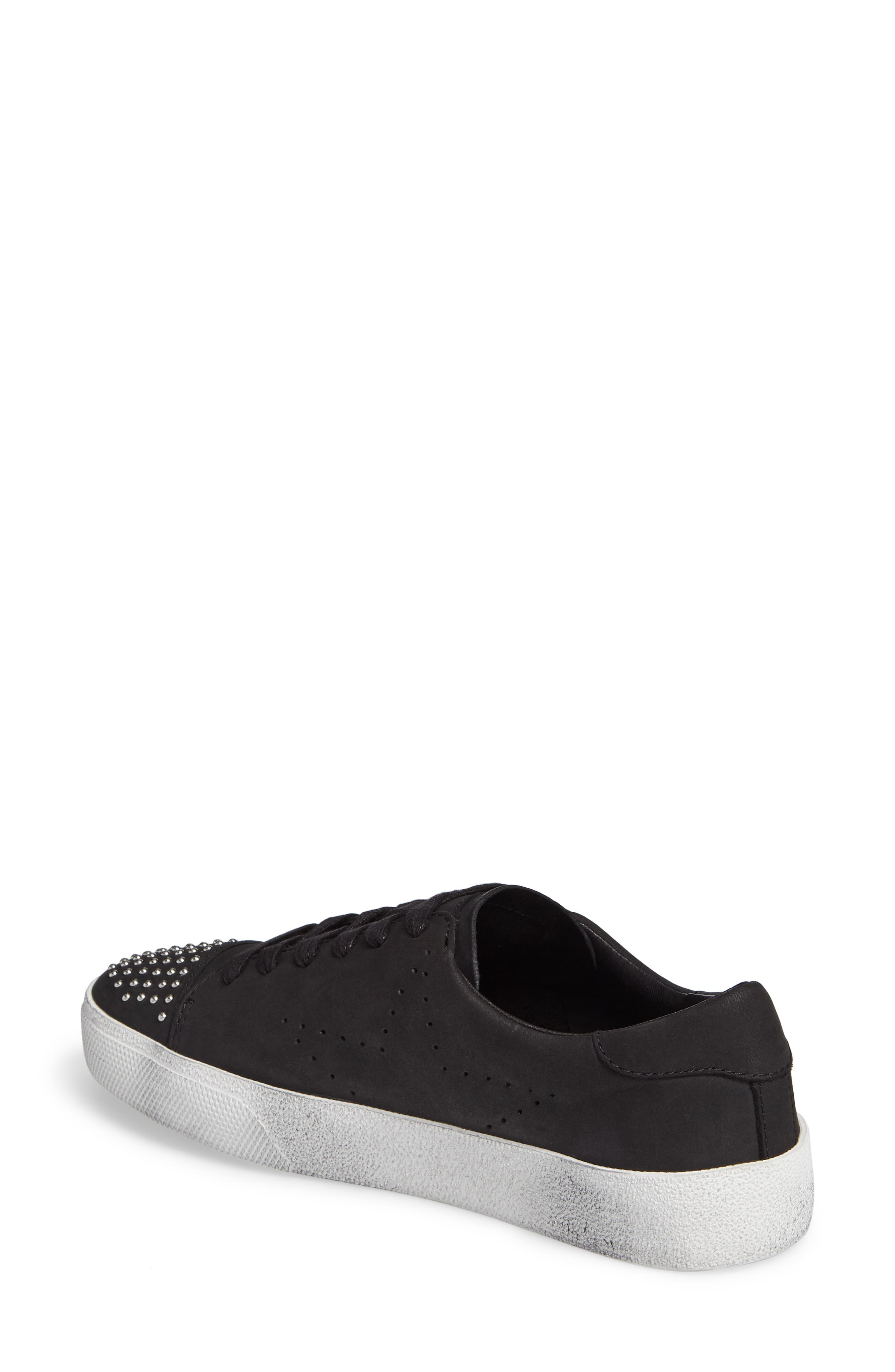 Catcall Studded Sneaker,                             Alternate thumbnail 2, color,                             002