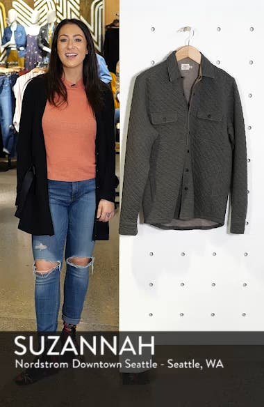 Belmar Quilted Shirt Jacket, sales video thumbnail