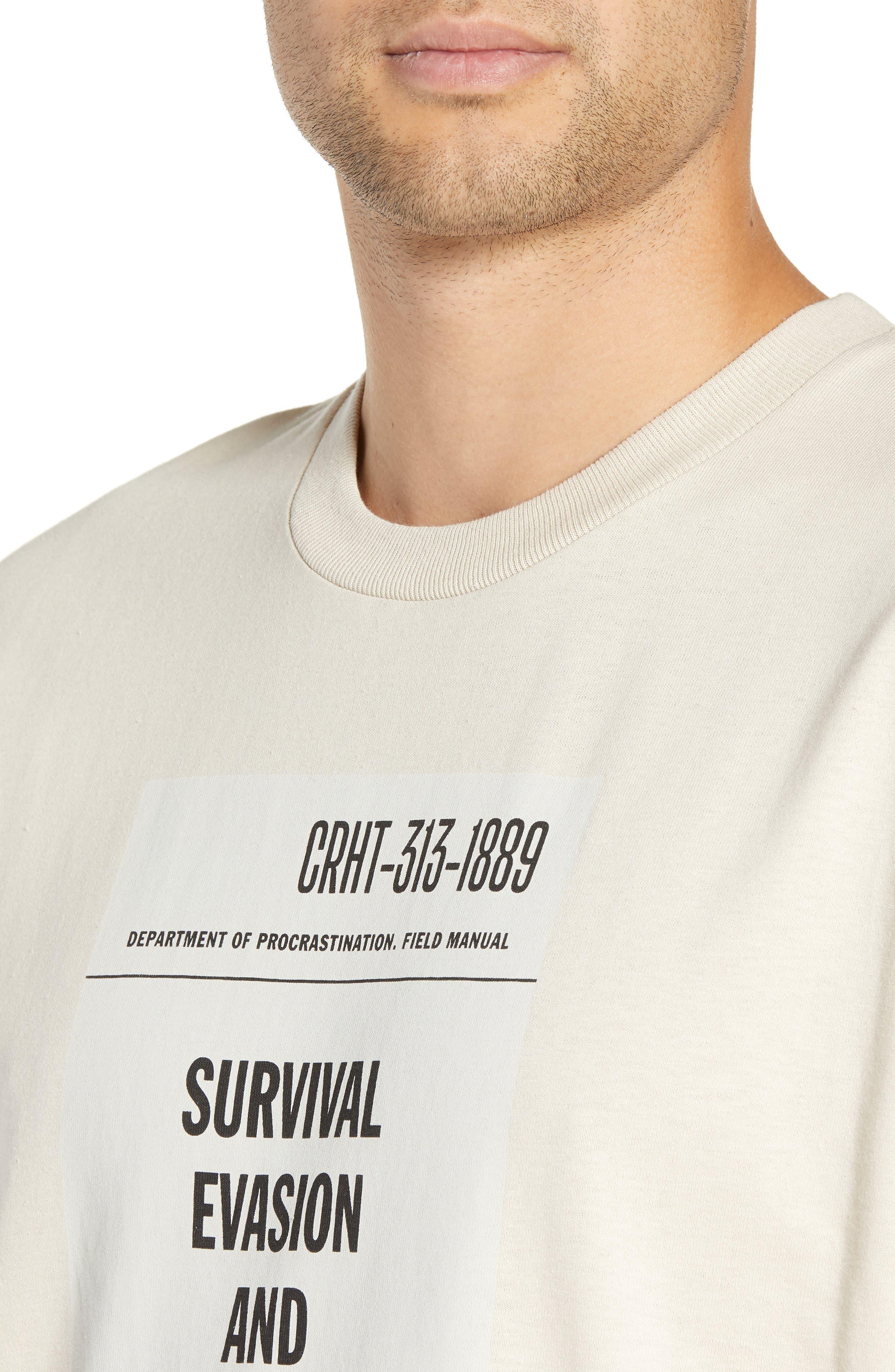 CARHARTT WORK IN PROGRESS,                             Survival Graphic T-Shirt,                             Alternate thumbnail 4, color,                             250