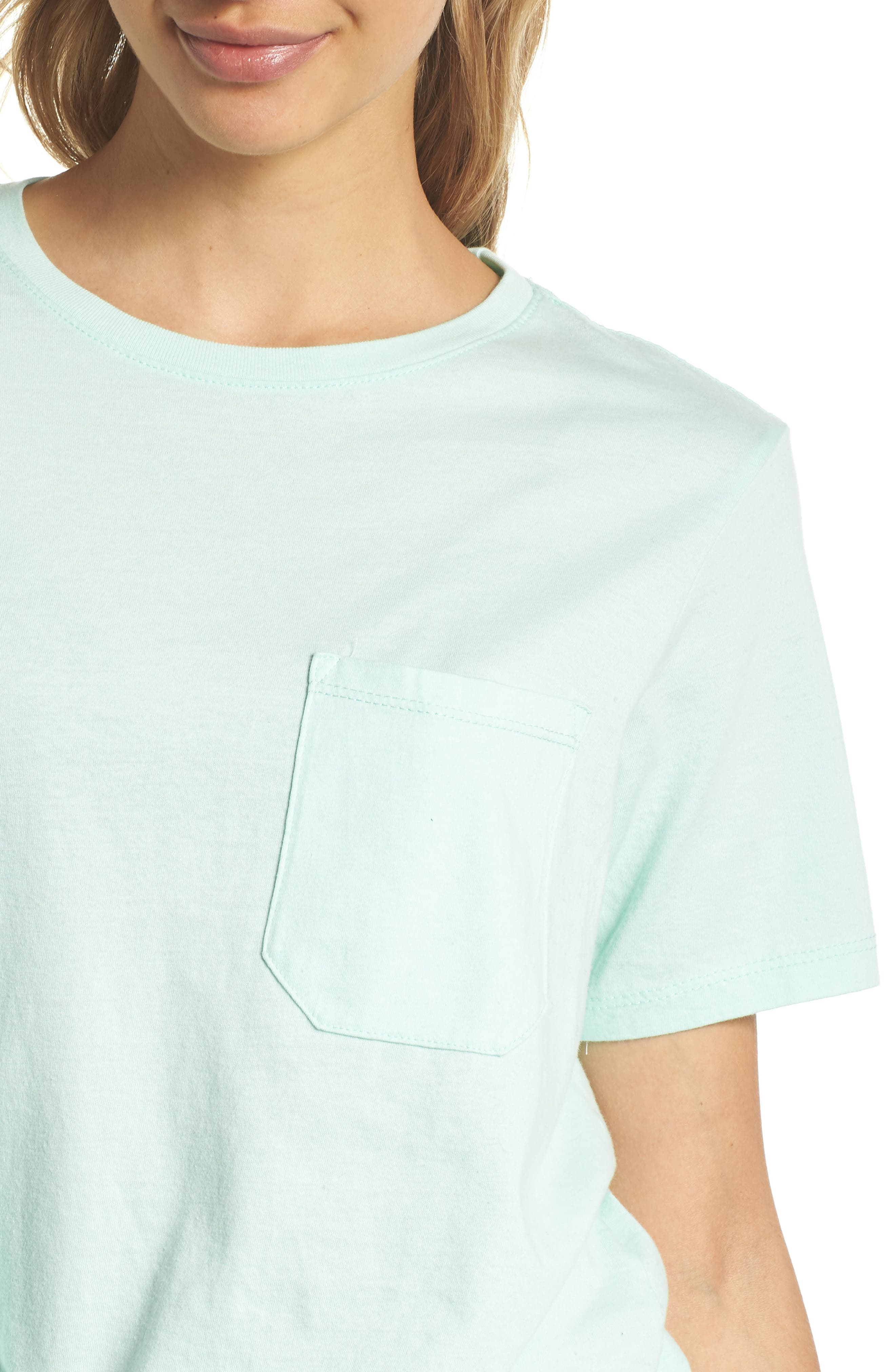 Pocket Tee,                             Alternate thumbnail 4, color,                             MINT