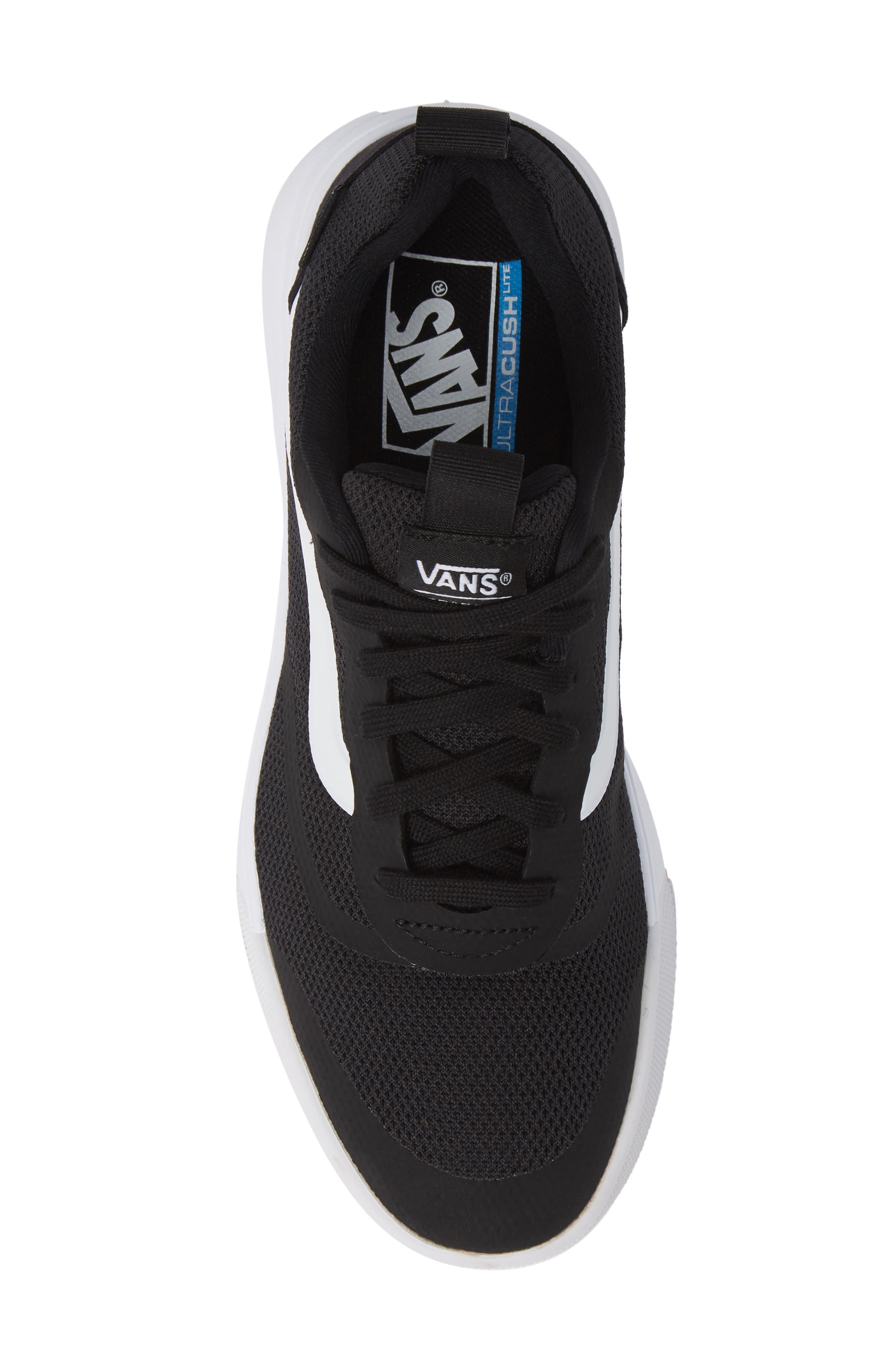 Ultrarange Rapidwield Sneaker,                             Alternate thumbnail 5, color,                             BLACK/ WHITE MESH