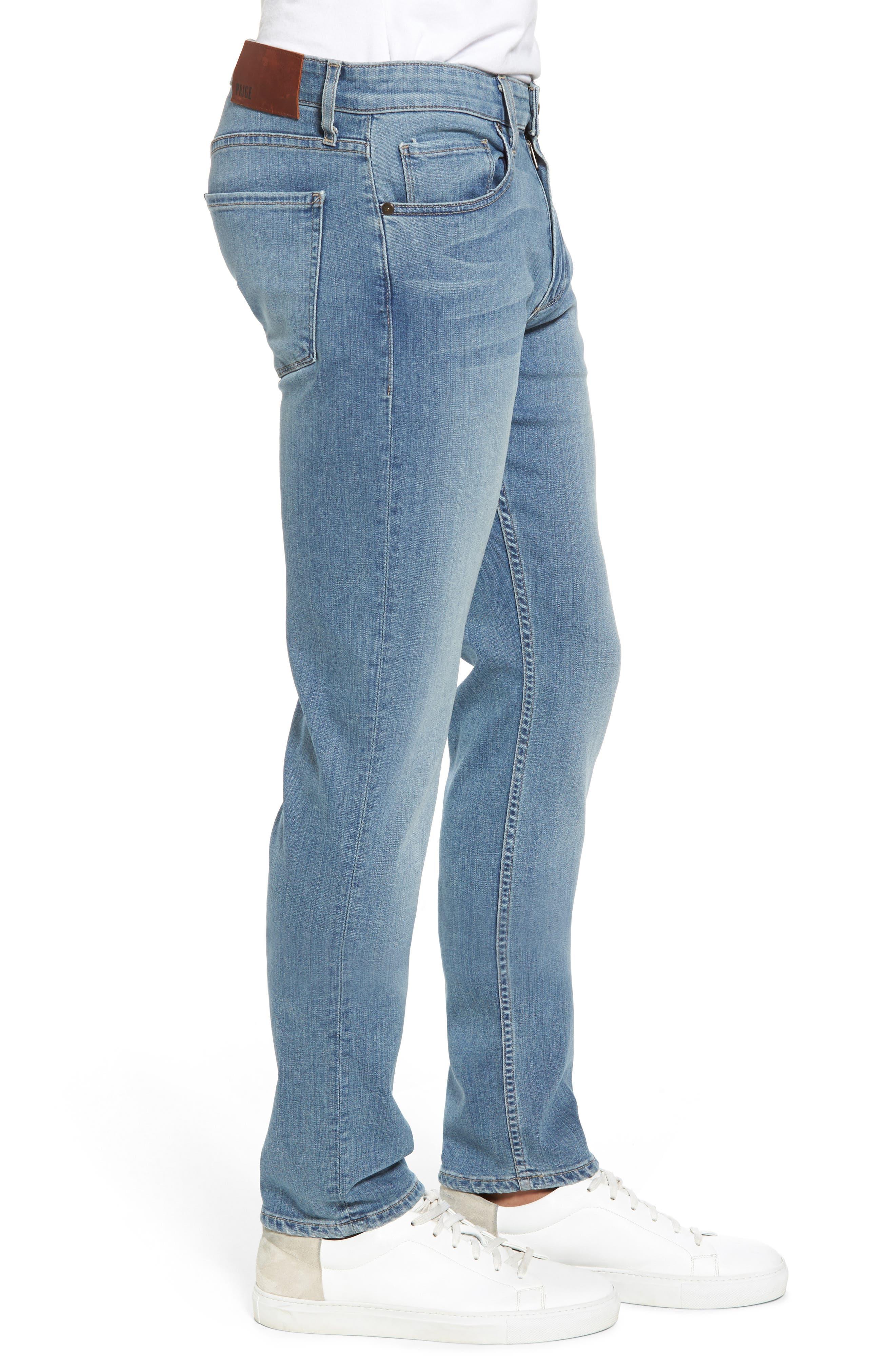 Transcend - Lennox Slim Fit Jeans,                             Alternate thumbnail 3, color,