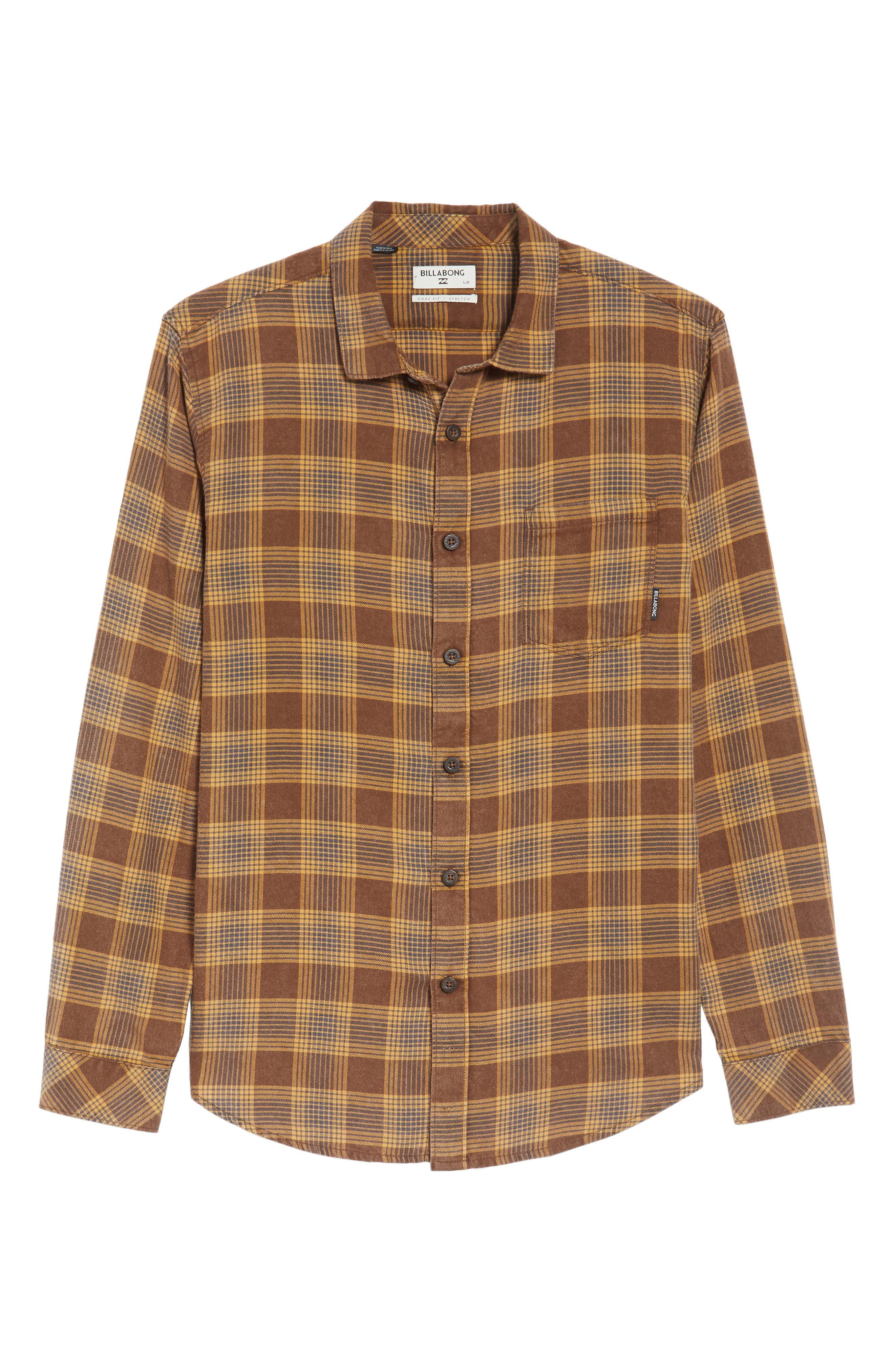 Freemont Flannel Shirt,                             Alternate thumbnail 6, color,                             205