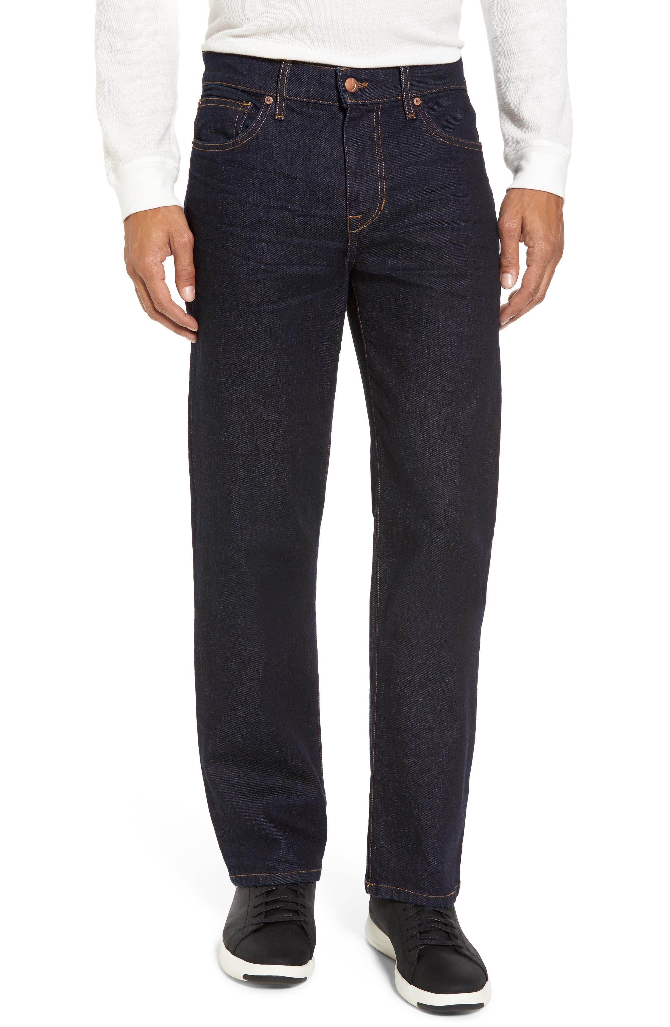 Brixton Slim Straight Leg Jeans,                             Main thumbnail 1, color,                             400