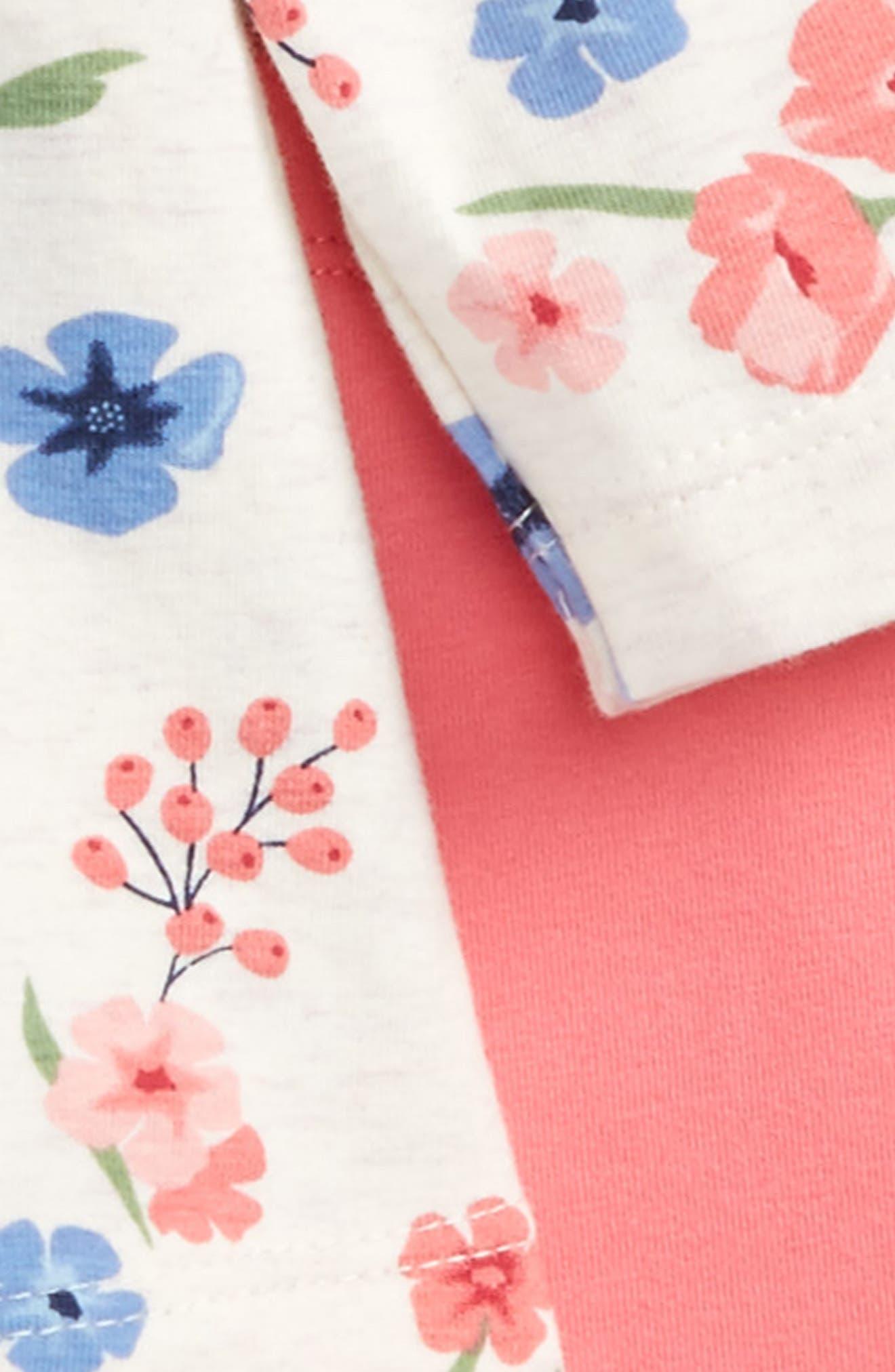 Flower Tunic & Leggings Set,                             Main thumbnail 1, color,                             650