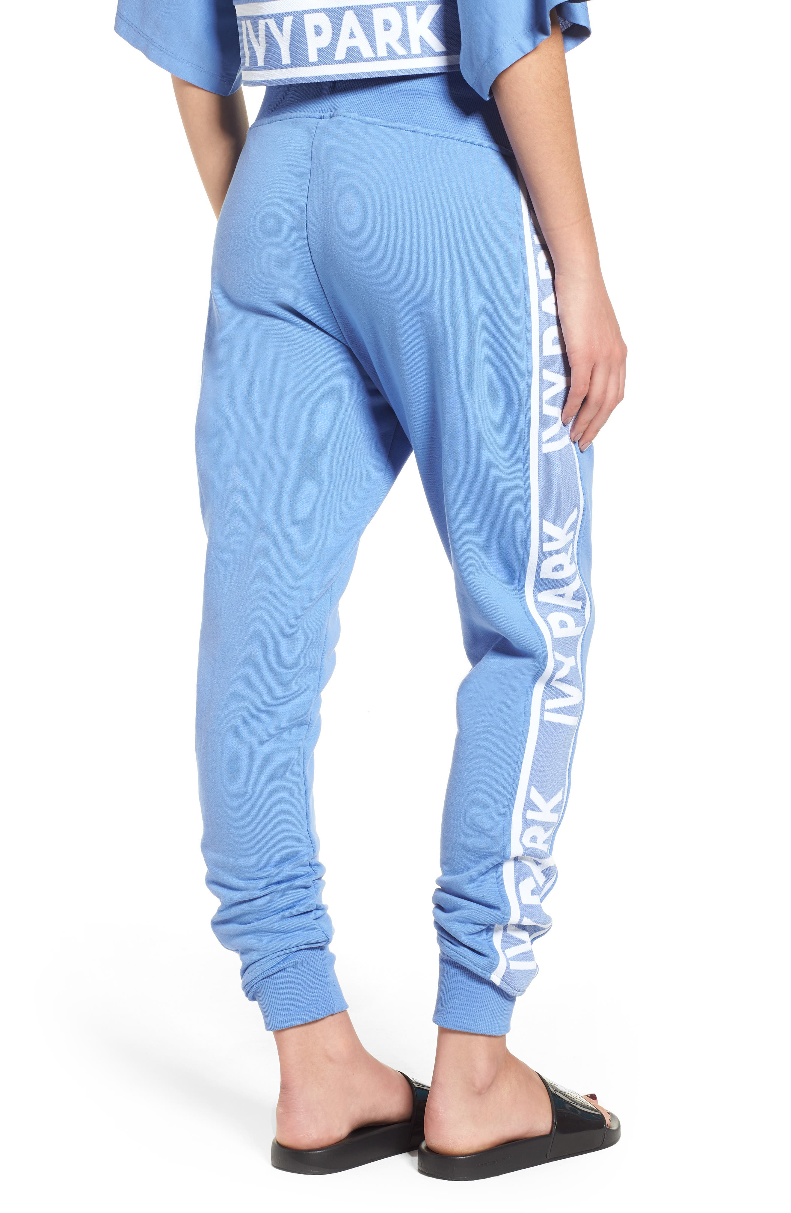Logo Tape Jogger Pants,                             Alternate thumbnail 2, color,                             WEDGEWOOD BLUE
