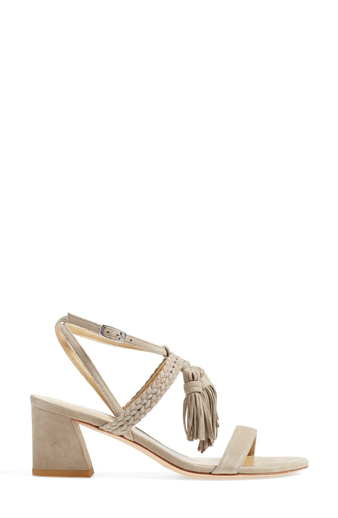'Tasselmania' Strappy Sandal,                             Alternate thumbnail 5, color,