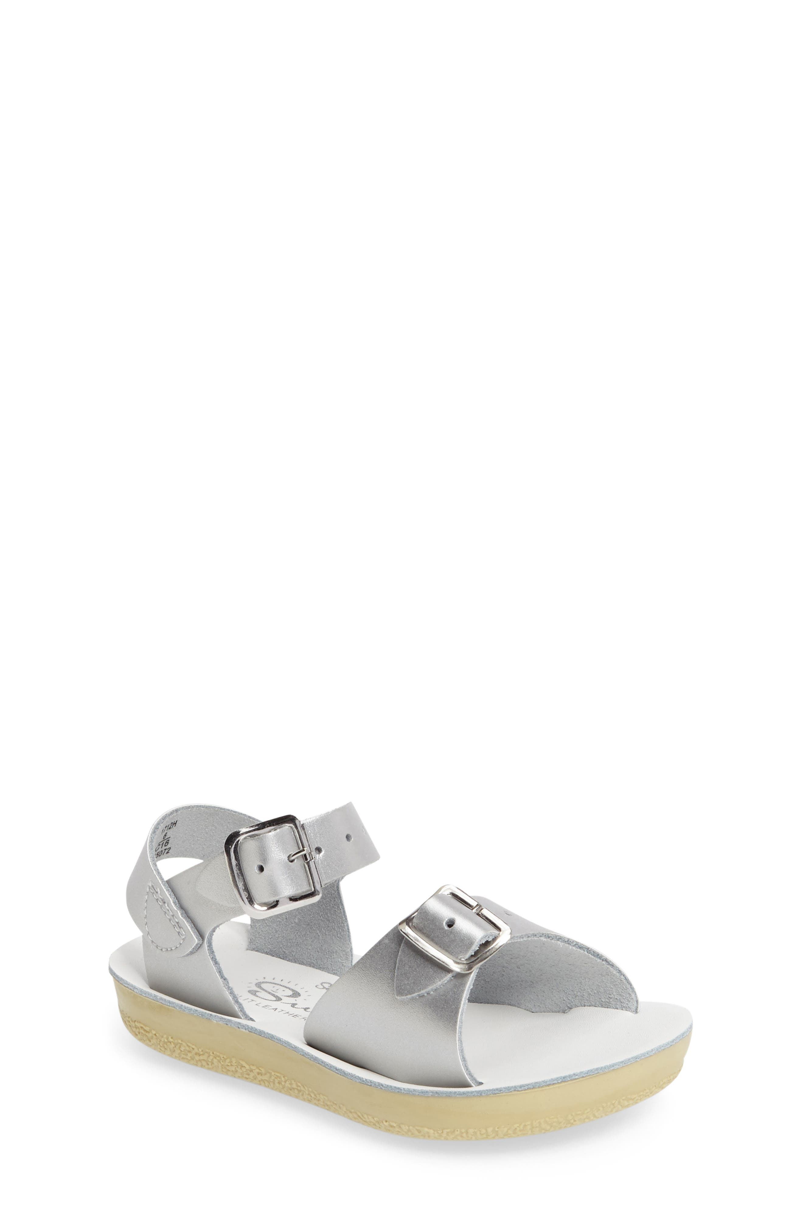 Surfer Water Friendly Sandal,                         Main,                         color, SILVER