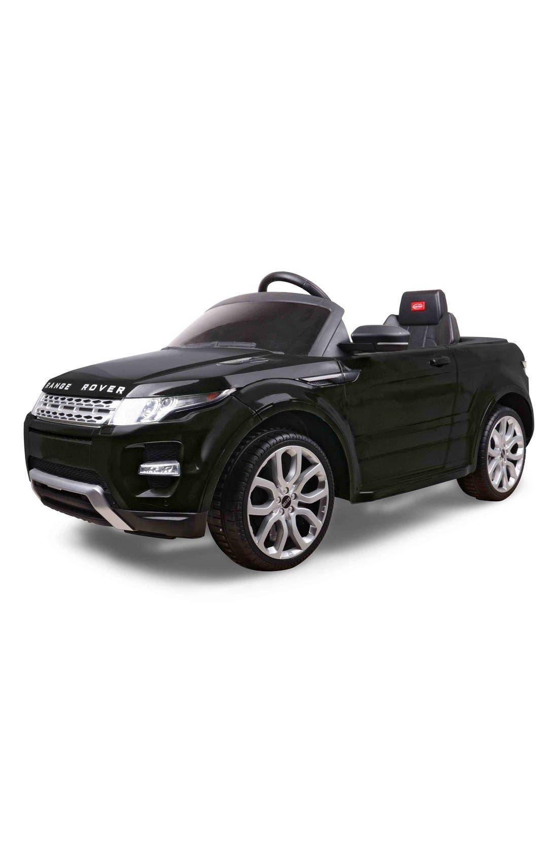 'Range Rover Evoque' 12V RC Ride-On Toy Car,                             Alternate thumbnail 4, color,                             001