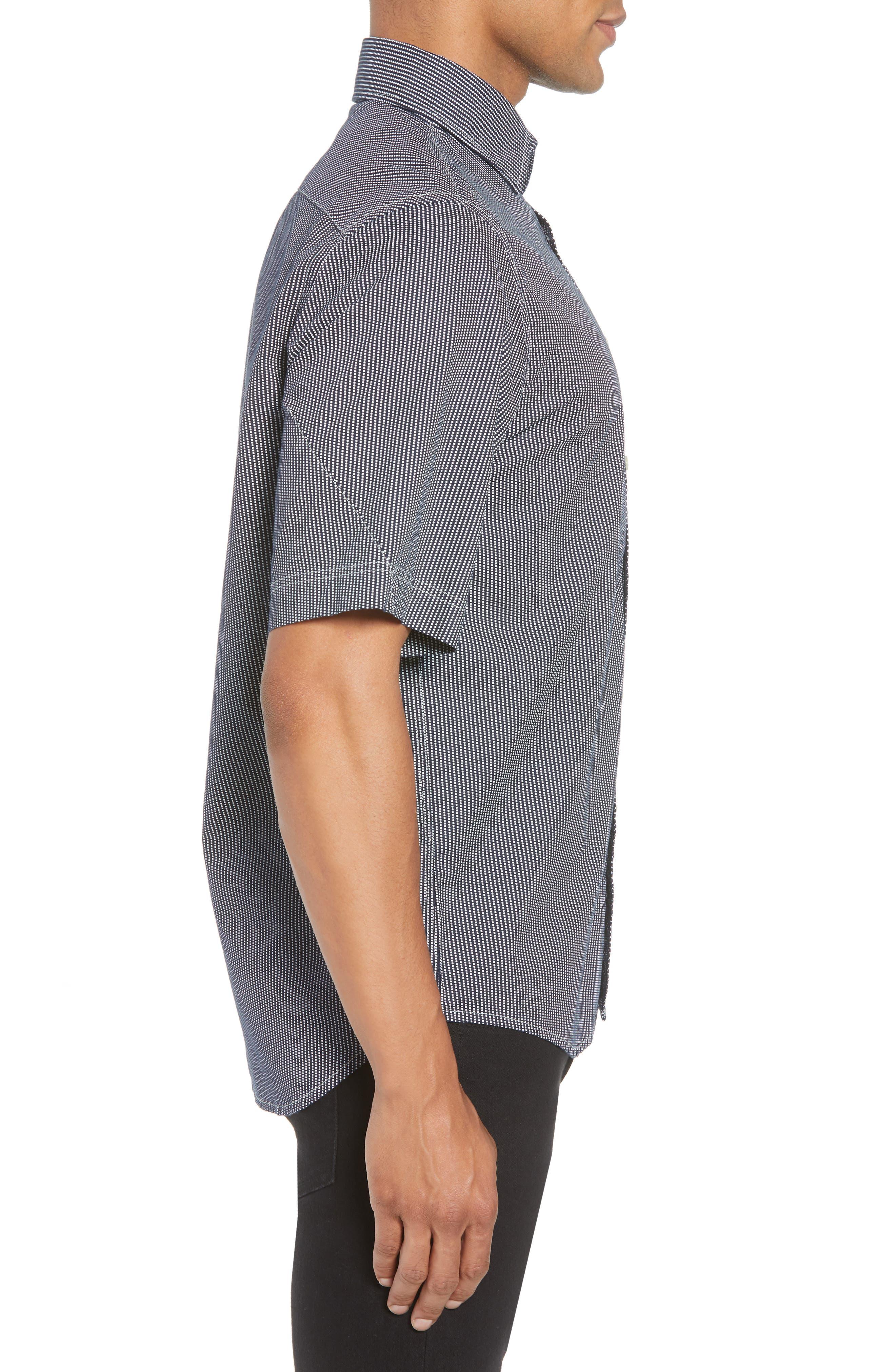 Bristum Straight Ref Shirt,                             Alternate thumbnail 3, color,                             400