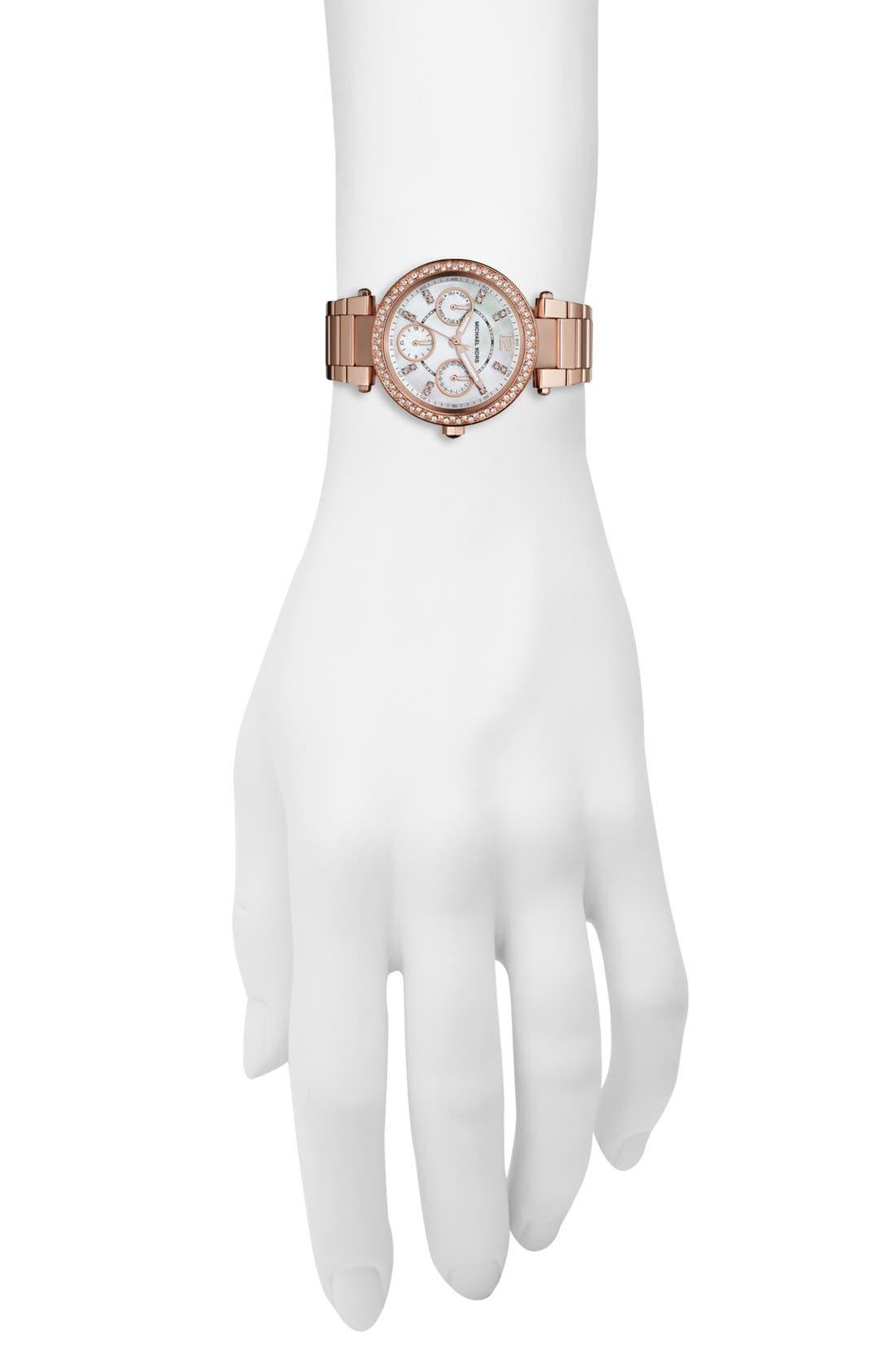 'Parker - Mini' Multifunction Watch, 33mm,                             Alternate thumbnail 9, color,
