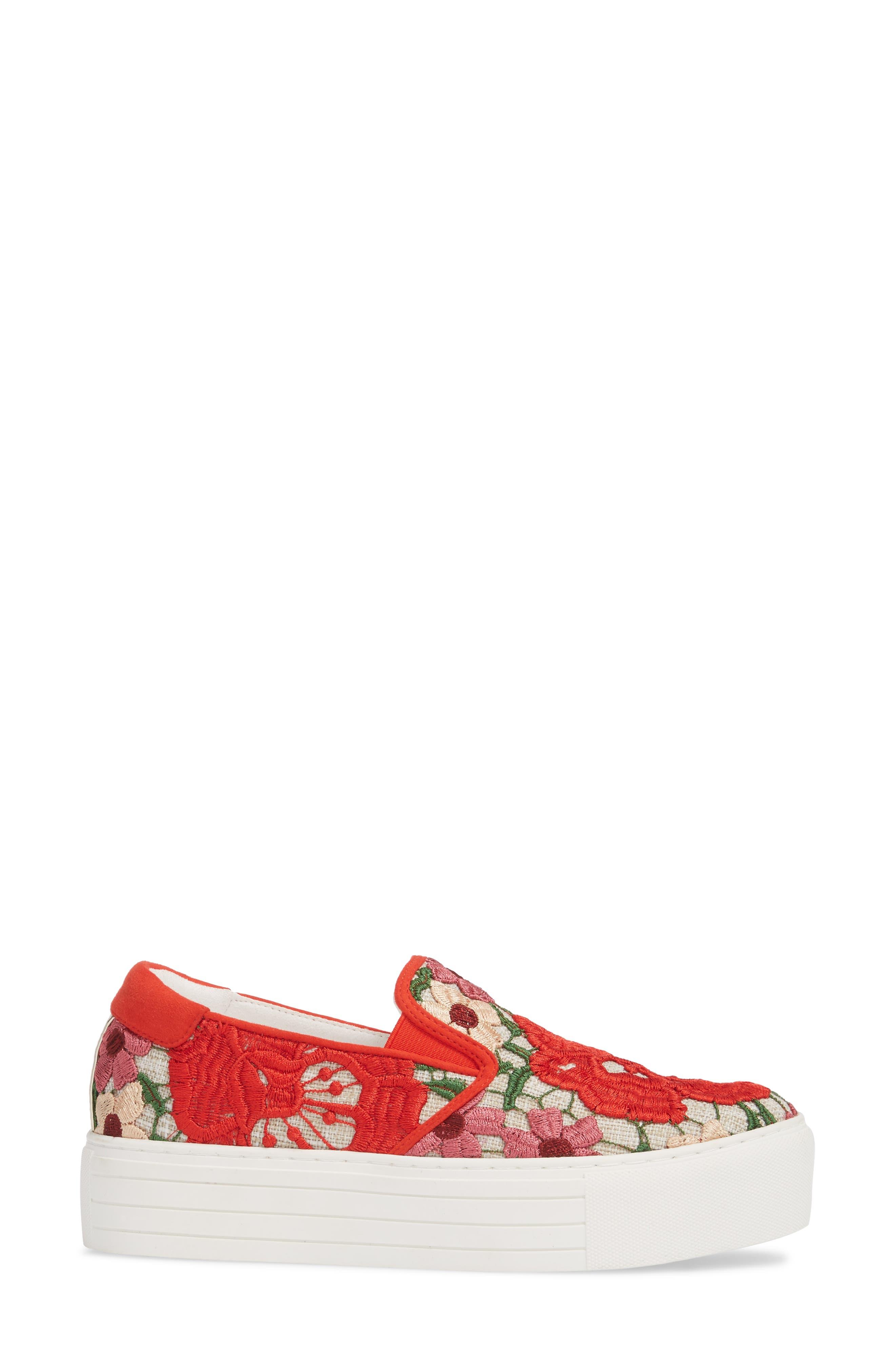 Joanie Slip-On Platform Sneaker,                             Alternate thumbnail 28, color,