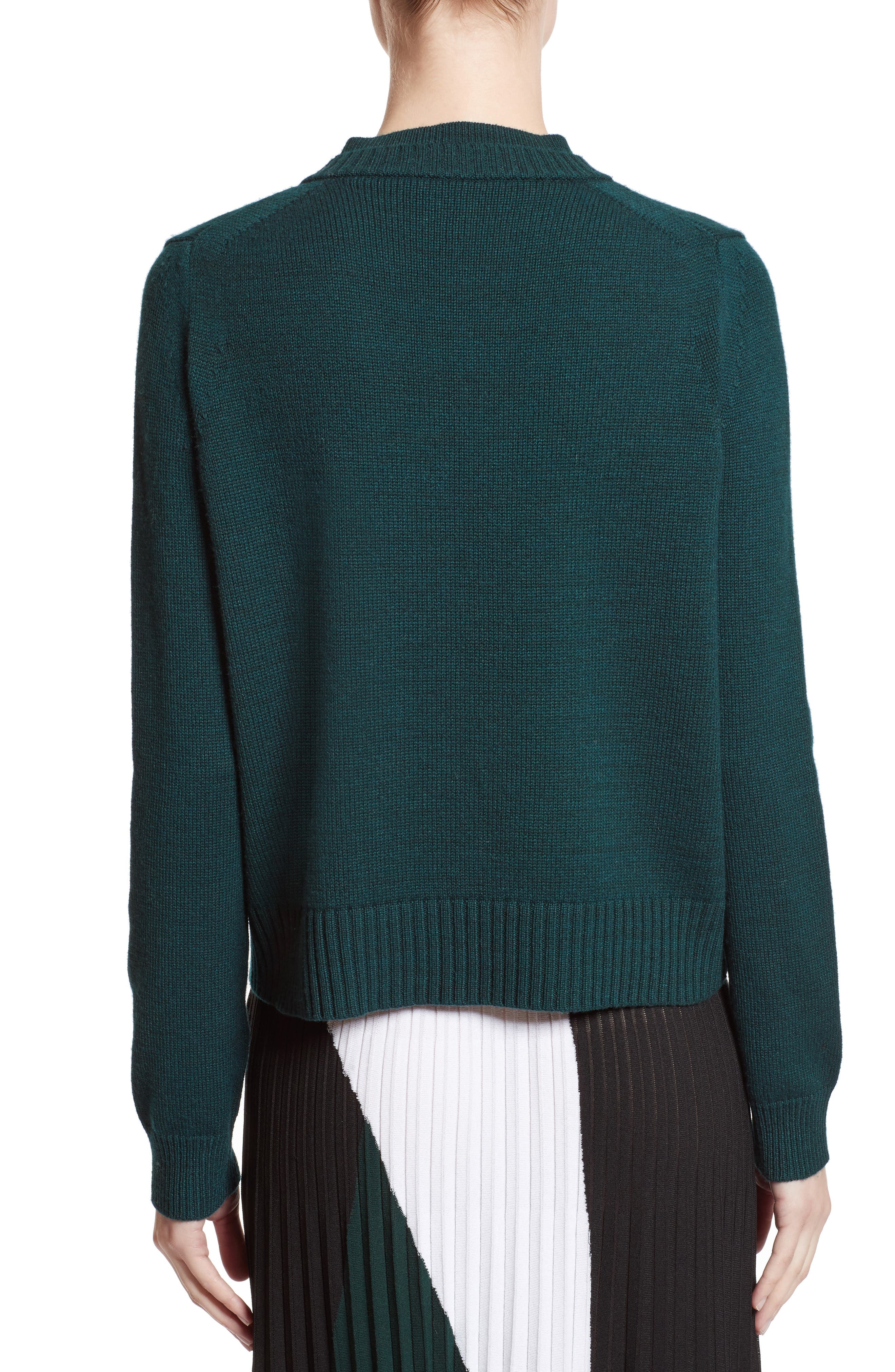 Wool, Silk & Cashmere Pullover,                             Alternate thumbnail 2, color,