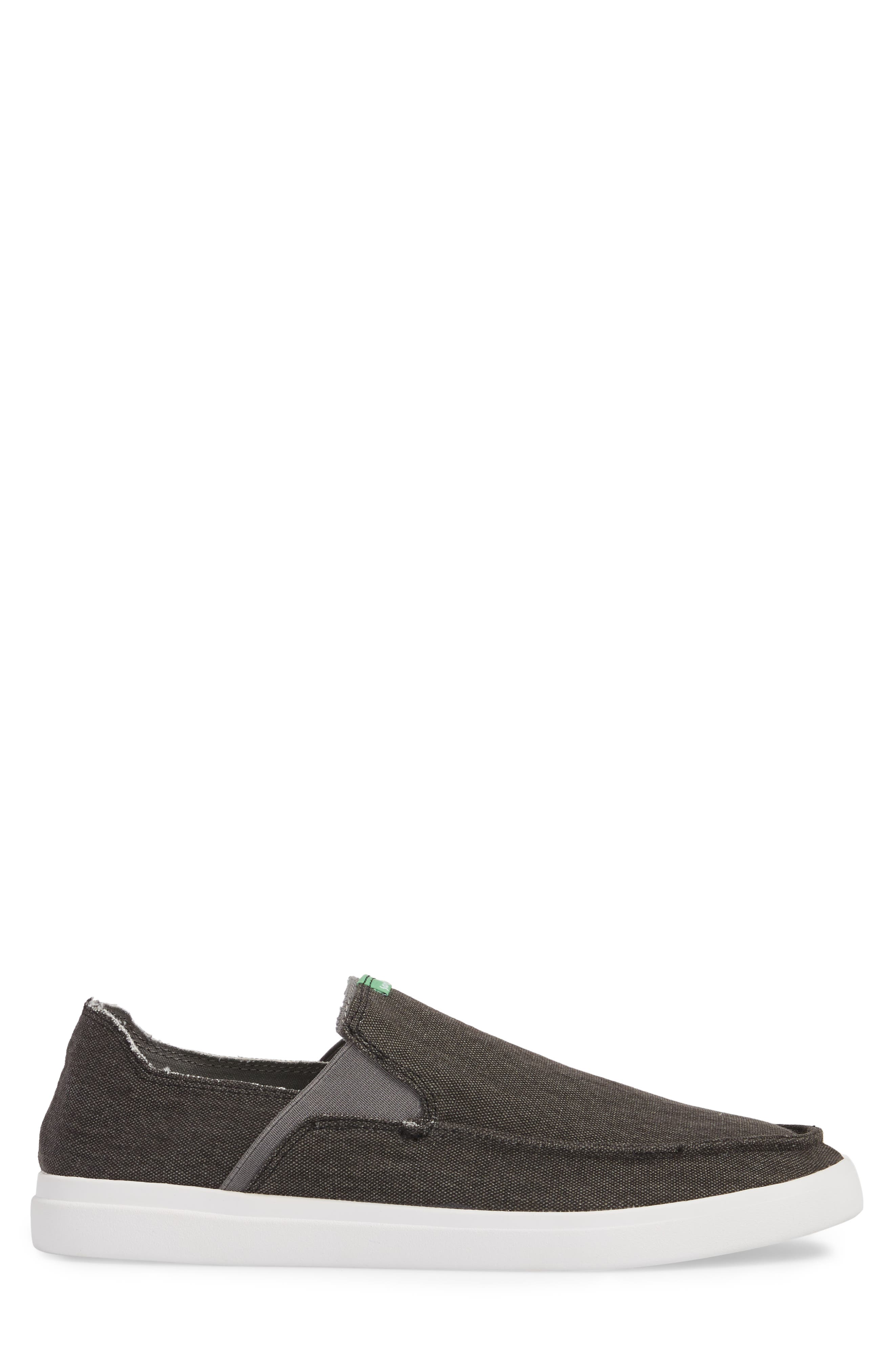 Pickpocket Slip-On Sneaker,                             Alternate thumbnail 3, color,                             BLACK
