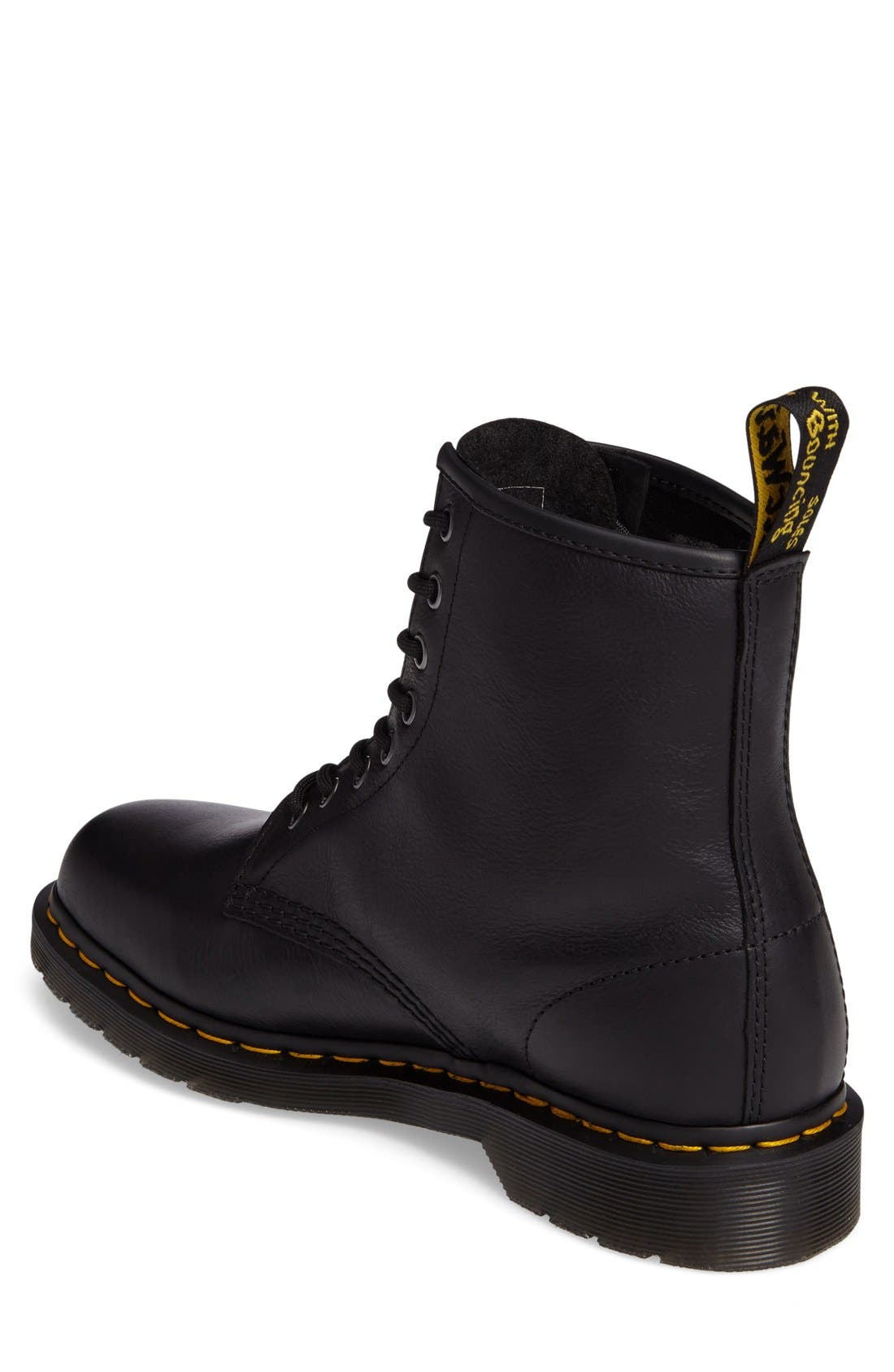 '1460' Plain Toe Boot,                             Alternate thumbnail 5, color,                             001
