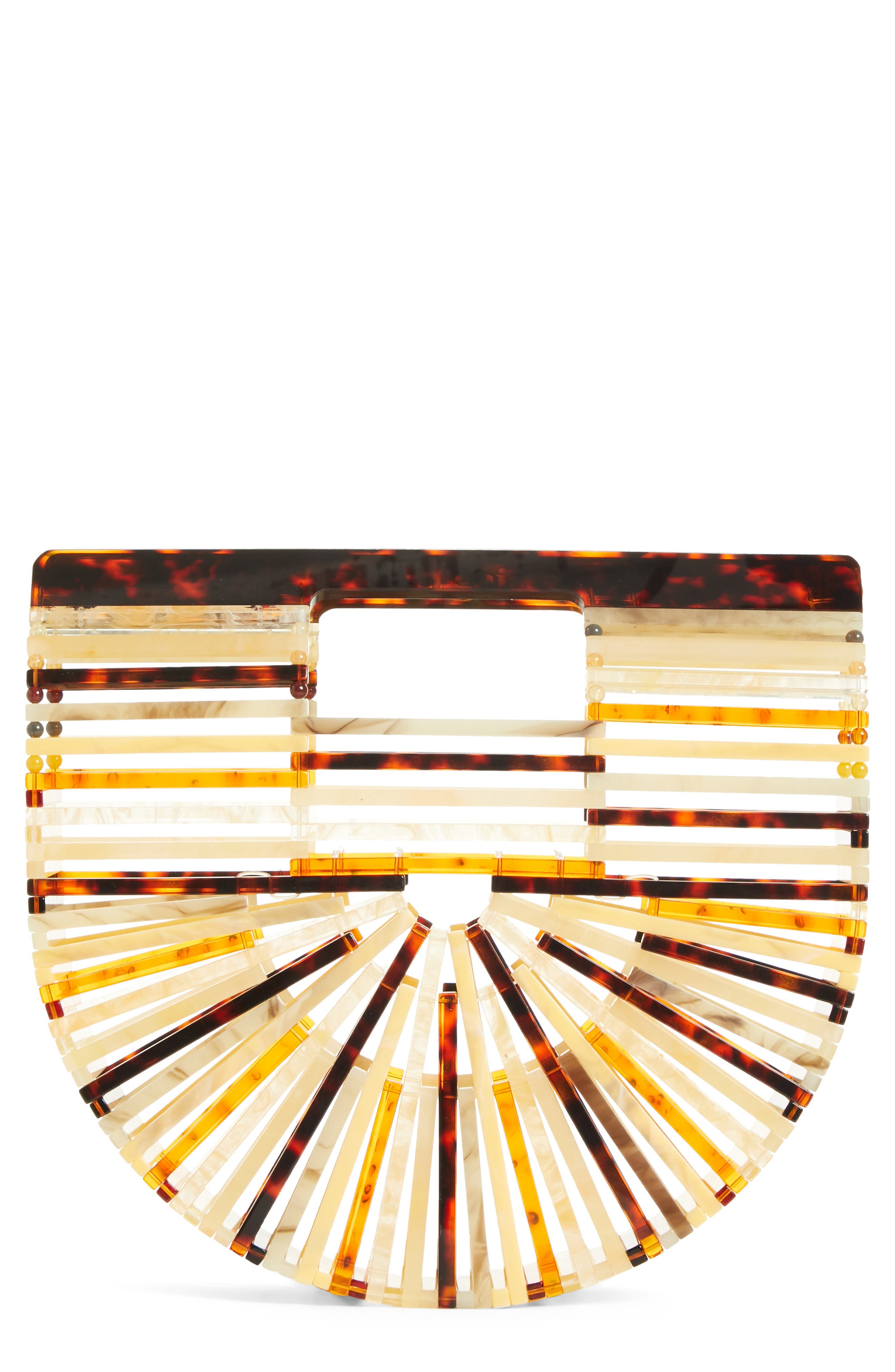 Mini Ark Handbag,                         Main,                         color, TORTOISE
