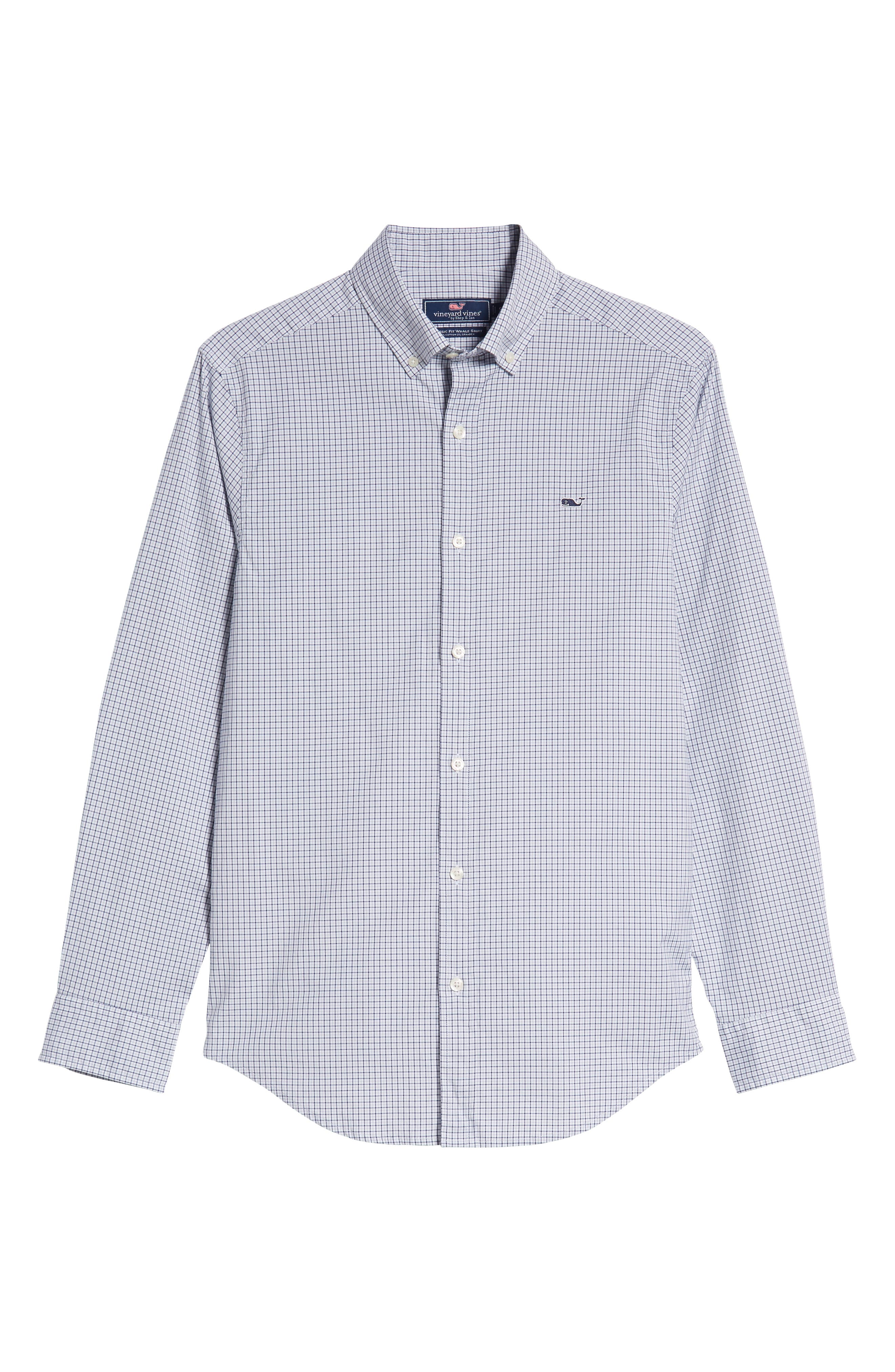 Beechcroft Regular Fit Check Sport Shirt,                             Alternate thumbnail 5, color,                             034