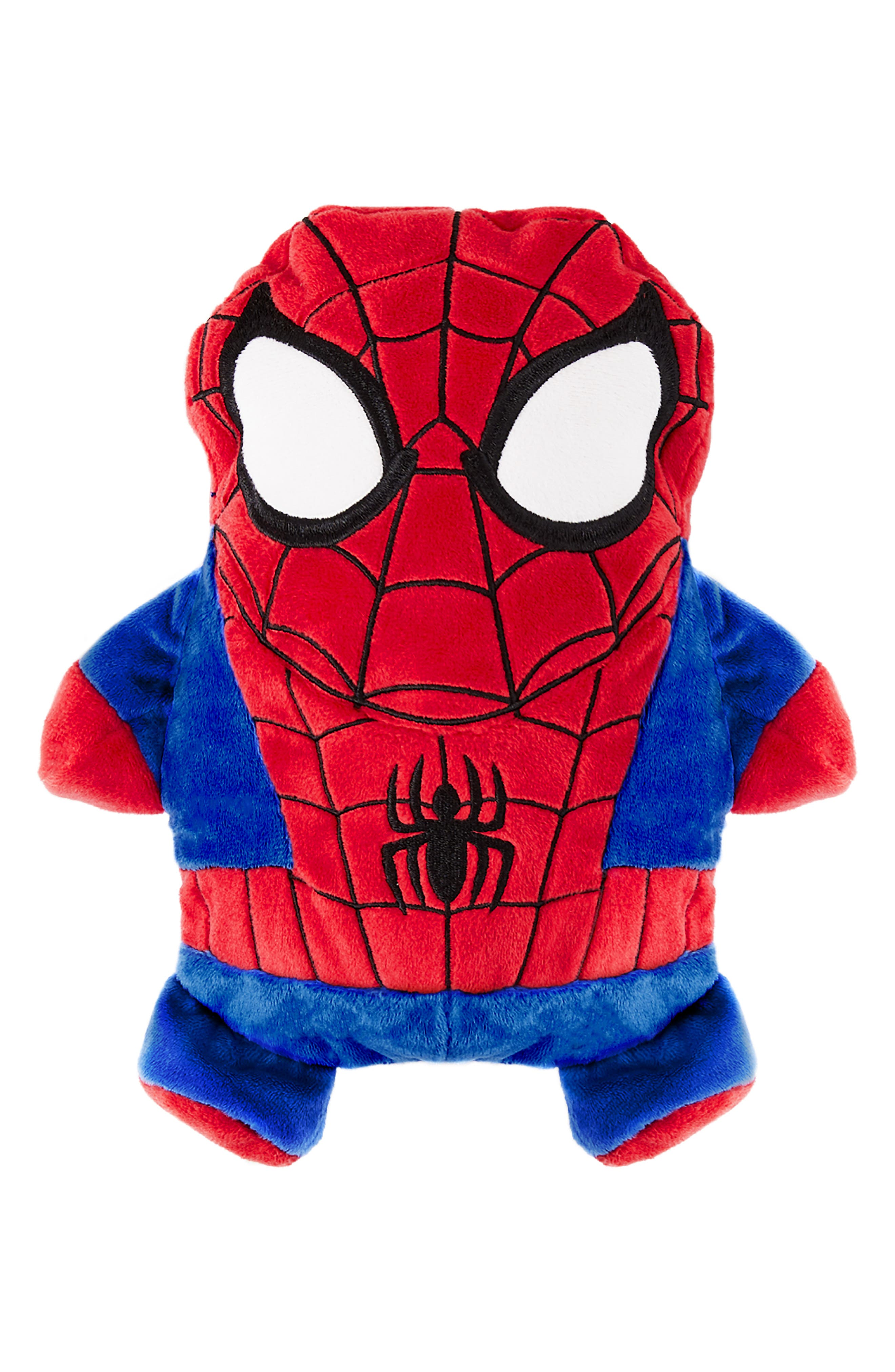 Toddler Boys Cubcoats Marvel 2018 Spiderman Stuffed Animal Hoodie Size 3 T