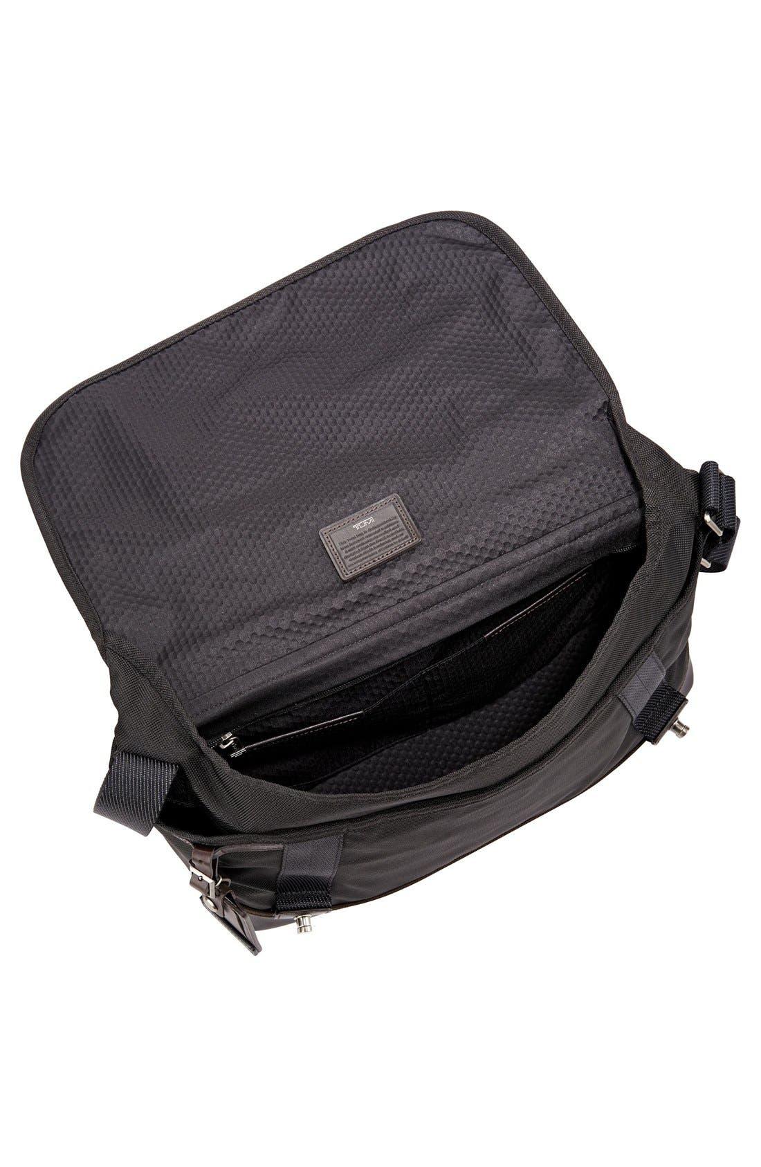 'Alpha Bravo - Foster' Messenger Bag,                             Alternate thumbnail 5, color,                             001