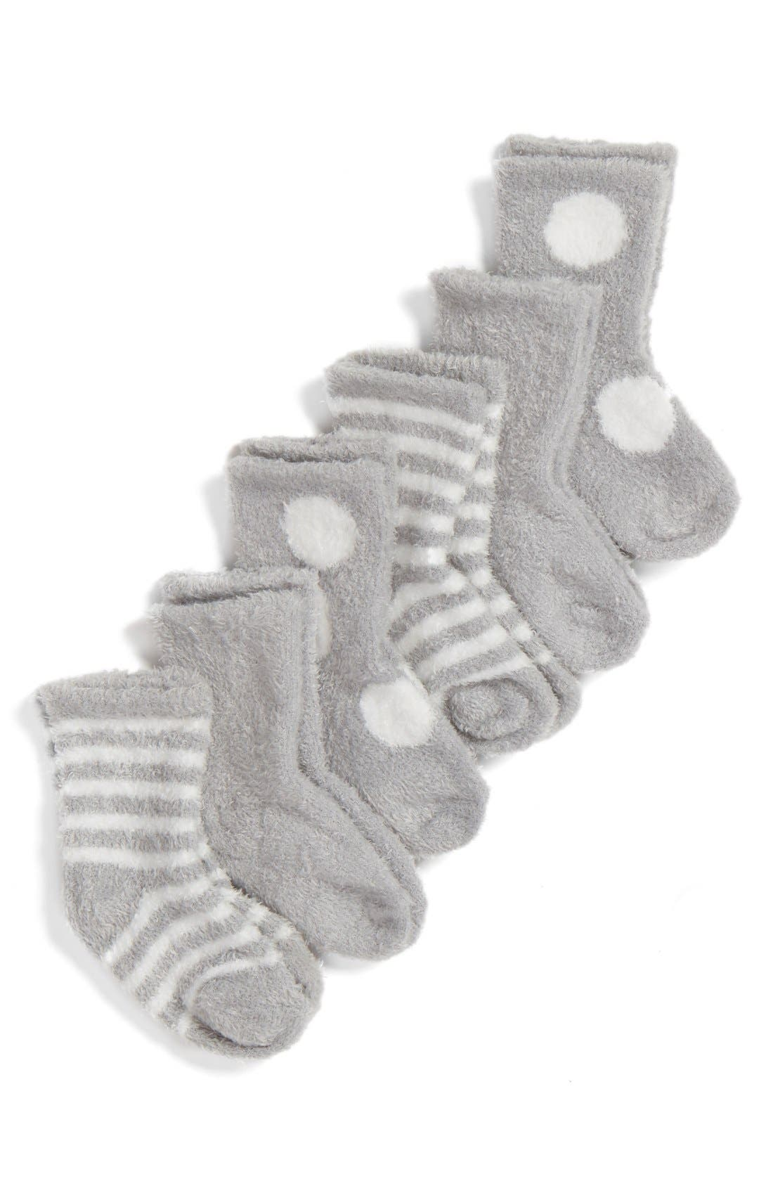Box of Socks<sup>™</sup> 6-Pack Set,                             Alternate thumbnail 2, color,                             SILVER
