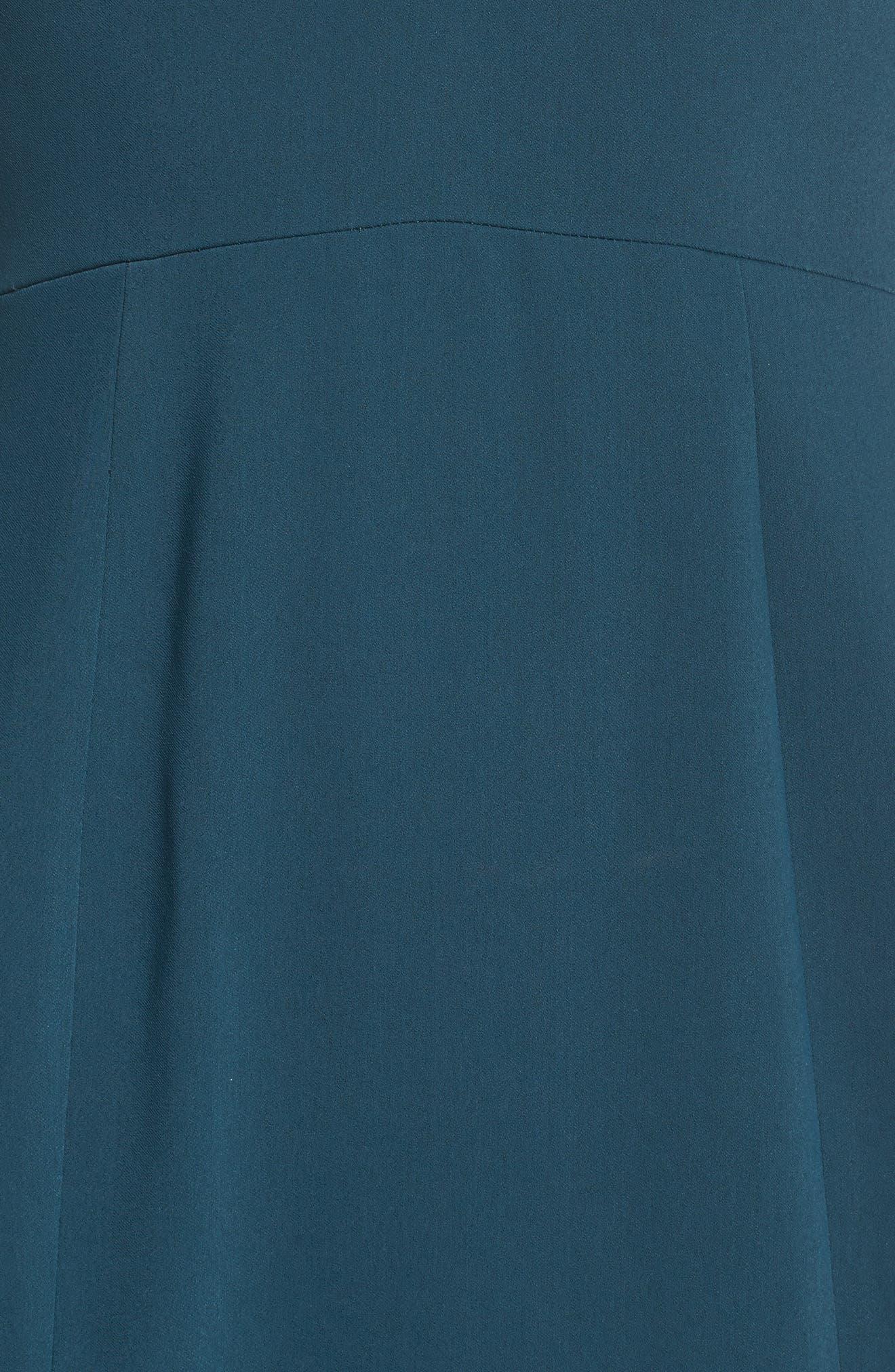 Temptation Asymmetrical Gown,                             Alternate thumbnail 5, color,                             300