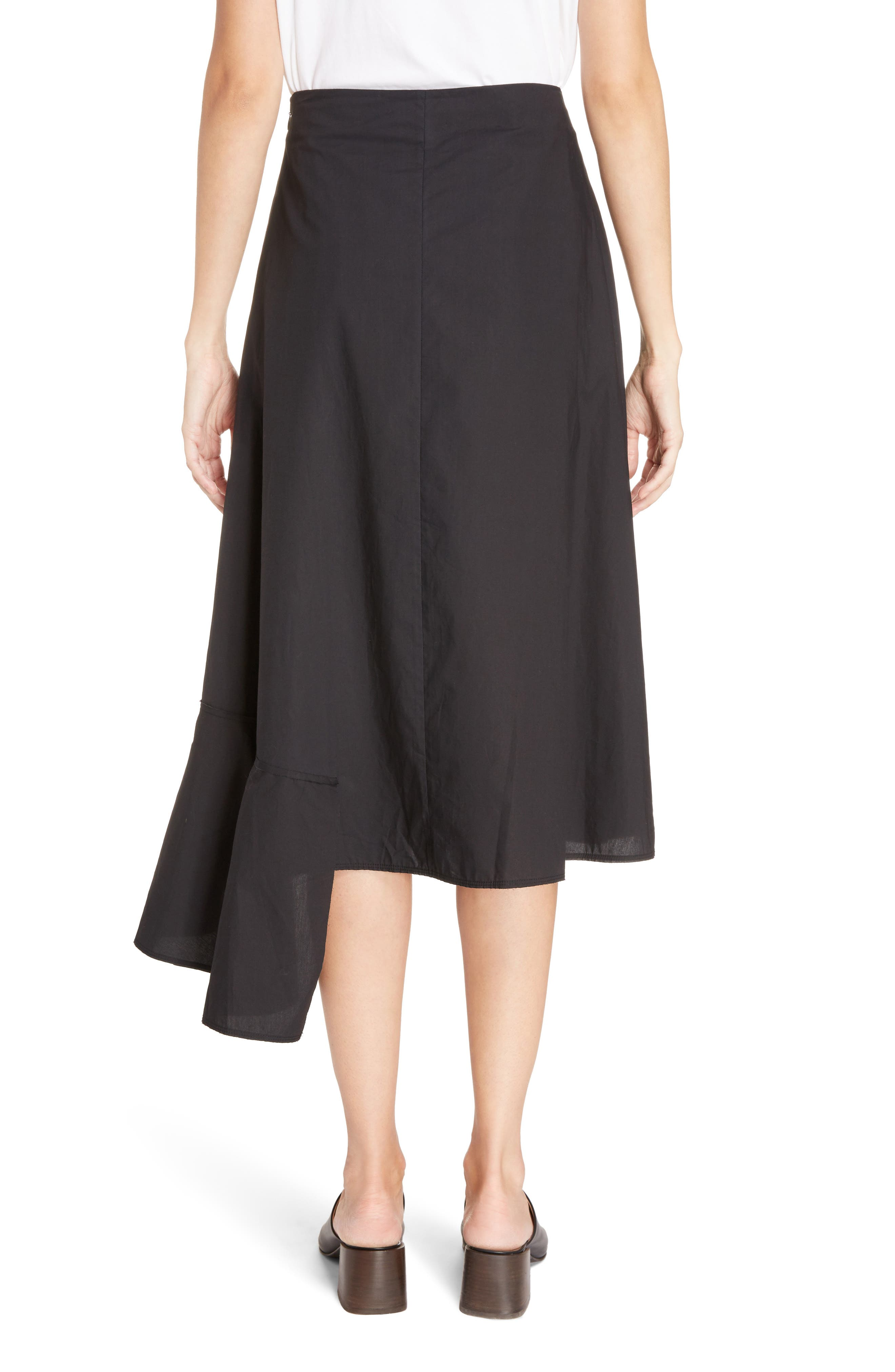 Hamina Ruffle Skirt,                             Alternate thumbnail 2, color,                             001